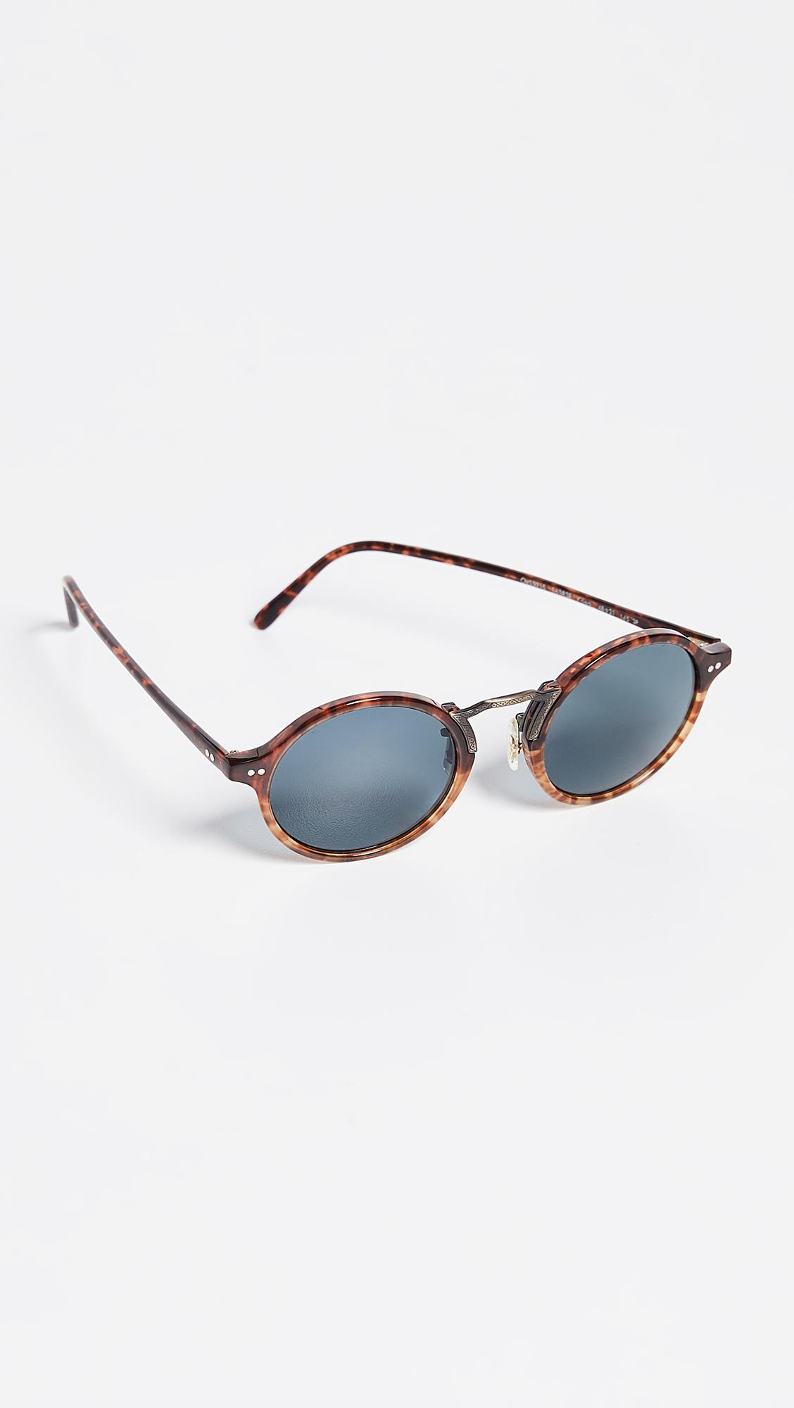 5330c9b51c6 Oliver Peoples - Blue Kosa Sunglasses for Men - Lyst. View fullscreen