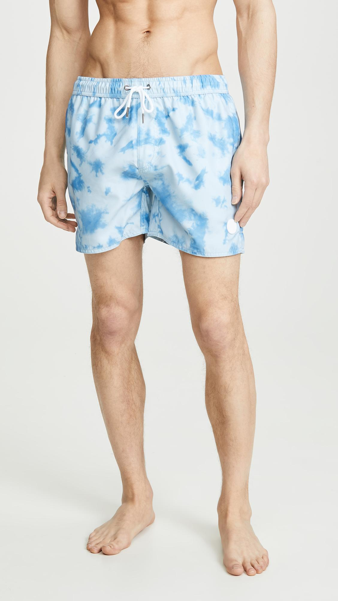 1f075d0462 Native Youth Archie Swim Shorts in Blue for Men - Lyst