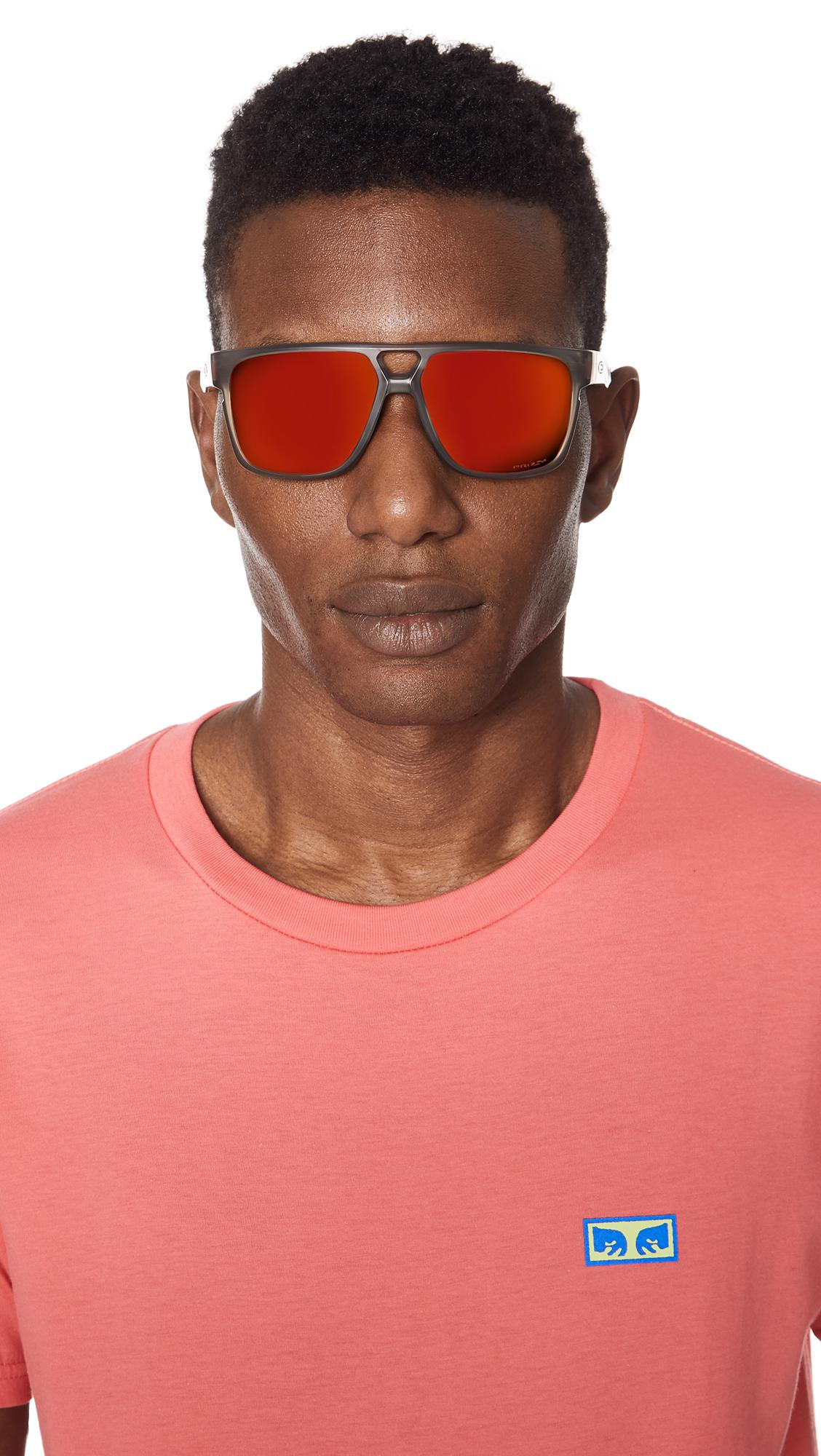 82e3b5ffe56 Oakley - Multicolor Crossrange Patch Prizm Sunglasses for Men - Lyst. View  fullscreen