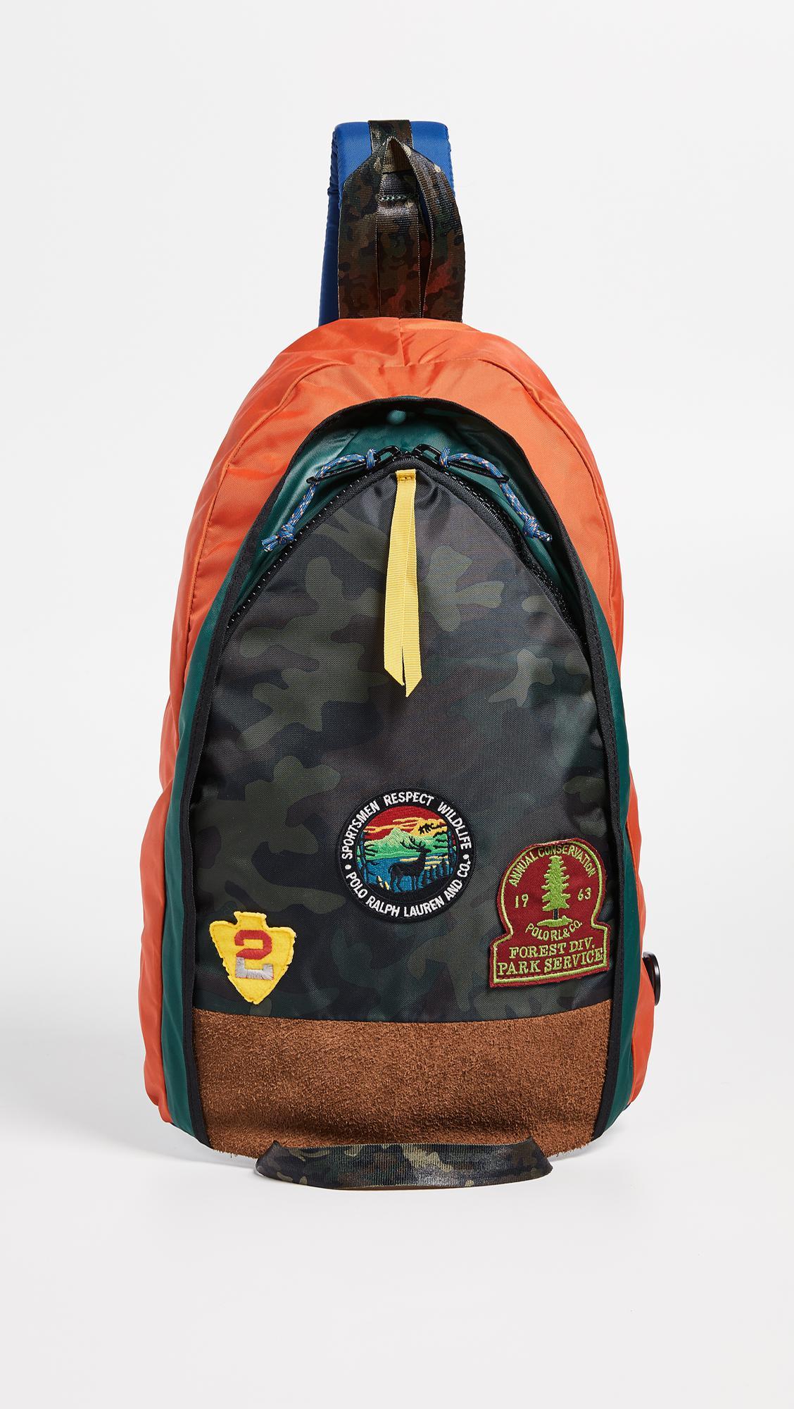 acb343c851 Polo Ralph Lauren - Blue Great Outdoors Crossbody Bag for Men - Lyst. View  fullscreen