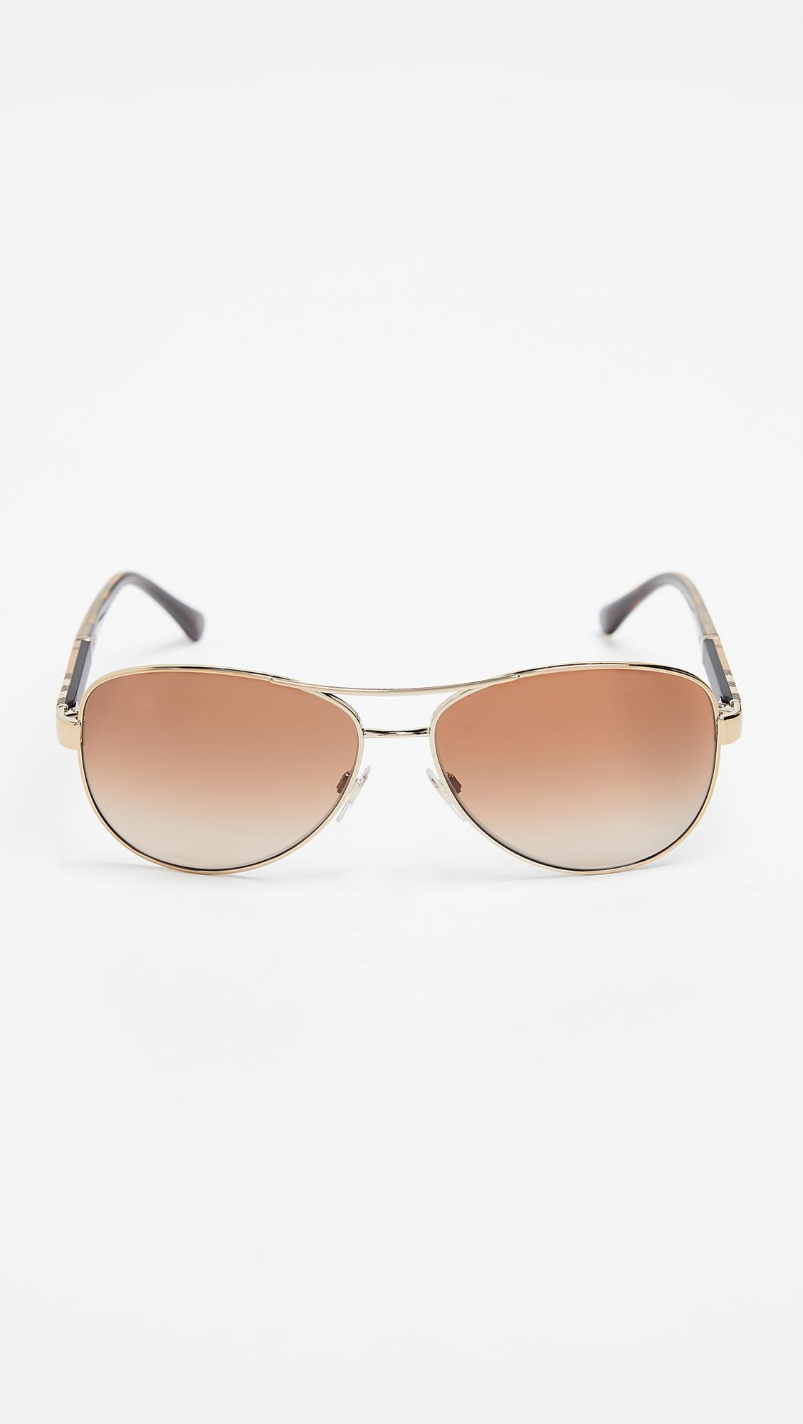 1554c798e5a2 Burberry 0be3080 Sunglasses in Brown for Men - Lyst