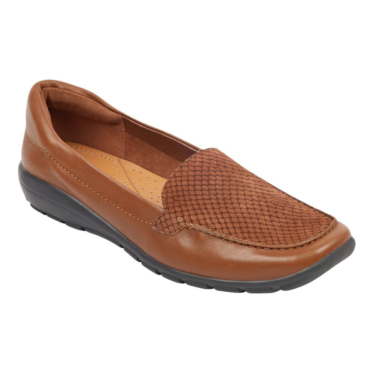 Easy Spirit Abide Casual Flats in Brown