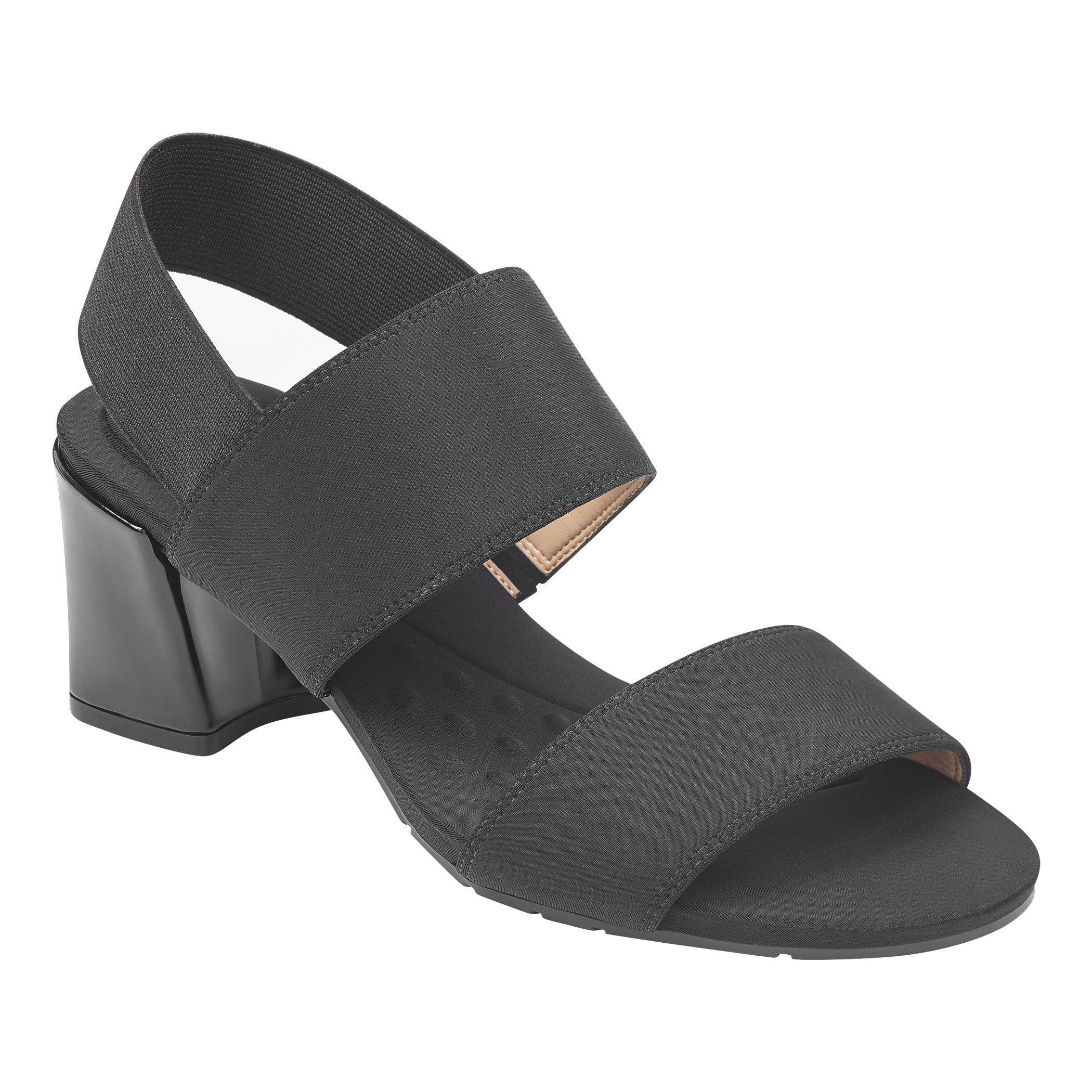 98333b67becb Lyst - Easy Spirit Gatilda Sling Back Dress Sandals in Black - Save 31%