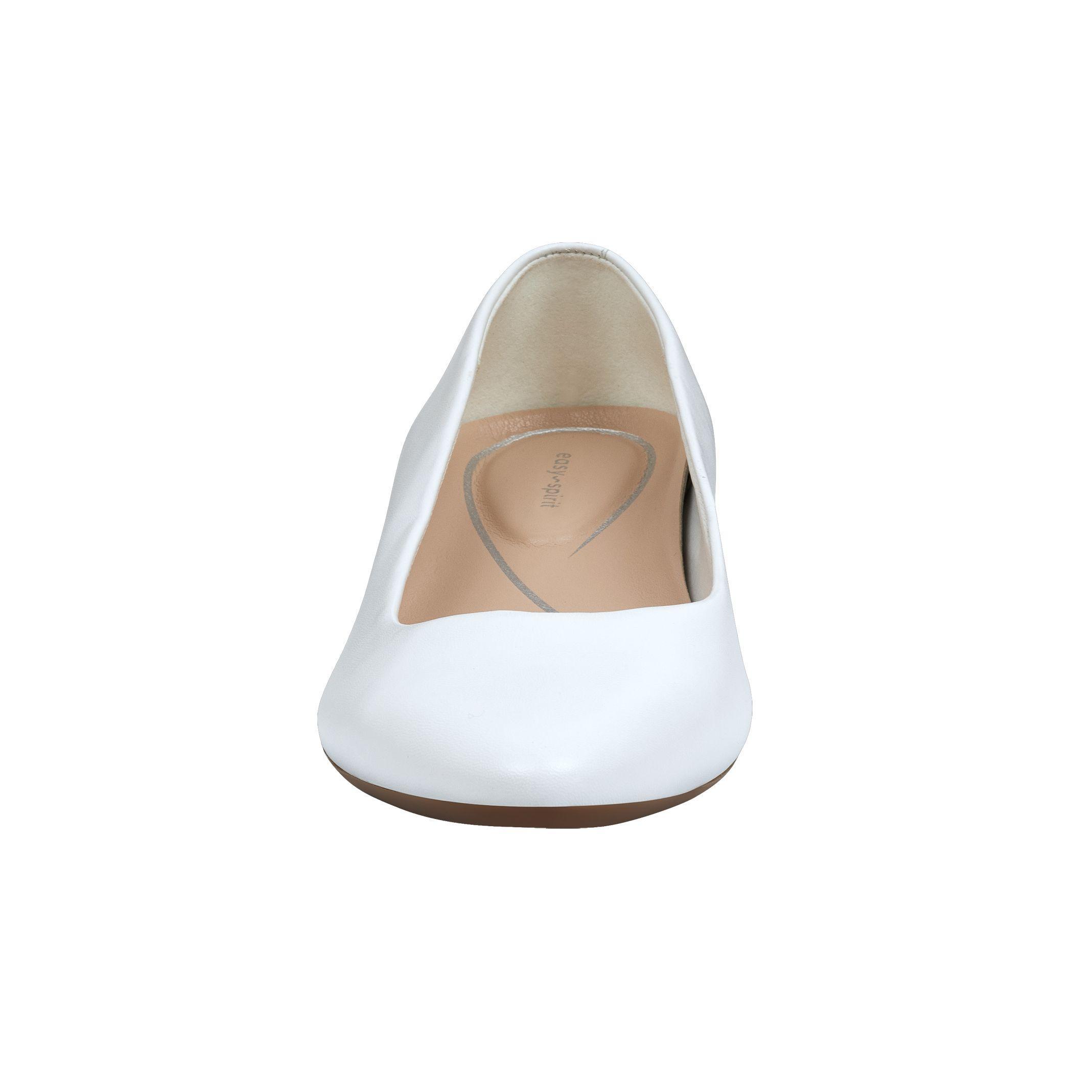 f31b563c579 Easy Spirit - White Caldise Low Heel Dress Shoes - Lyst. View fullscreen