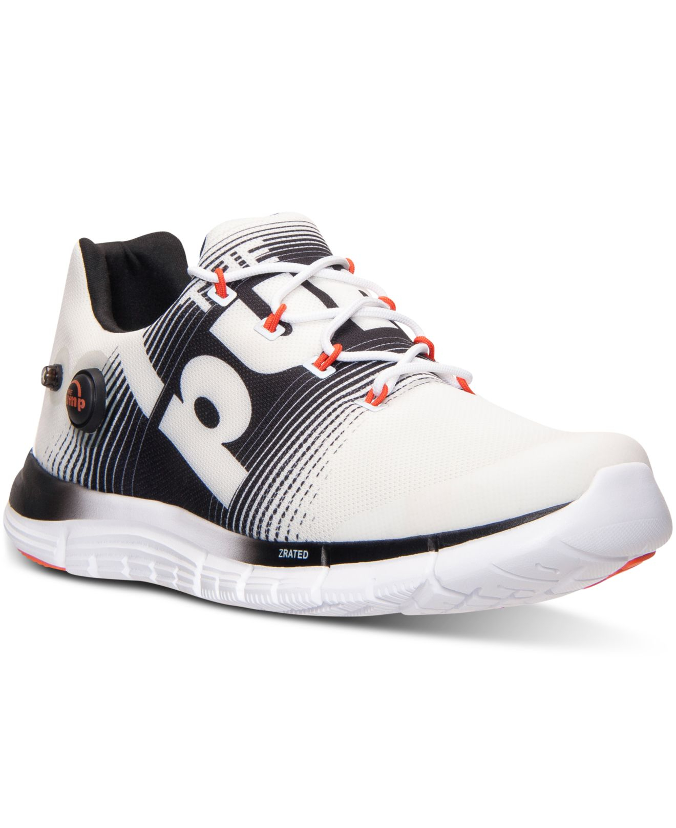 5be8af5a307 Lyst - Reebok Men s Zpump Fusion Running Sneakers From Finish Line ...