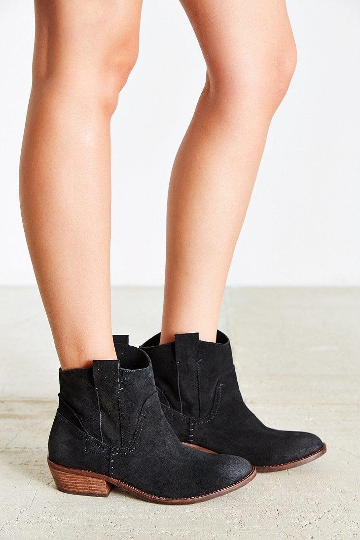 17627ca8f5 Dolce Vita Colynn Western Ankle Boot in Black - Lyst