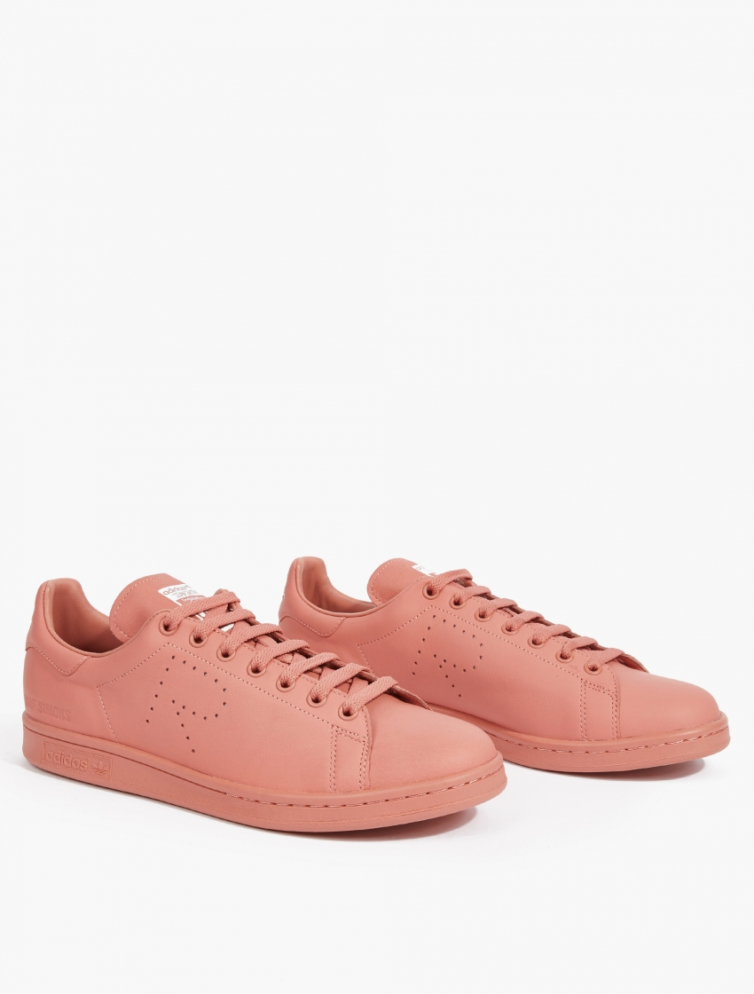 adidas by raf simons rose stan smith sneakers in pink for men lyst. Black Bedroom Furniture Sets. Home Design Ideas
