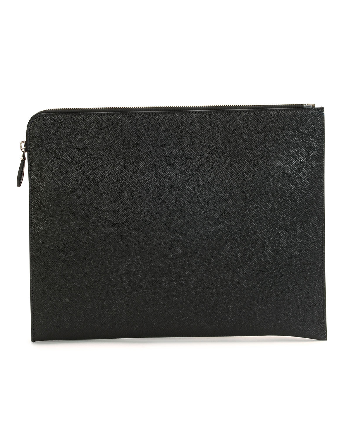 givenchy leather document holder in black for men lyst With black leather document holder