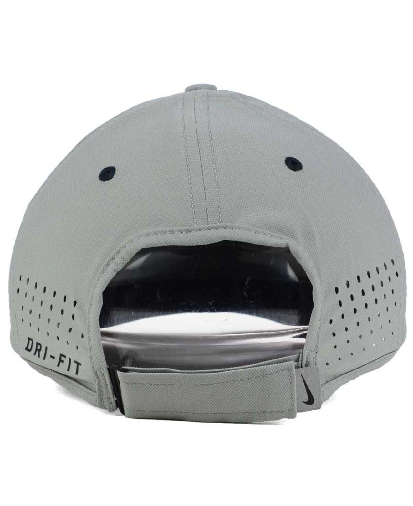 438906a83ceec ... canada lyst nike new york yankees vapor swoosh adjustable cap in gray  for men 5a4cd 8c5f3