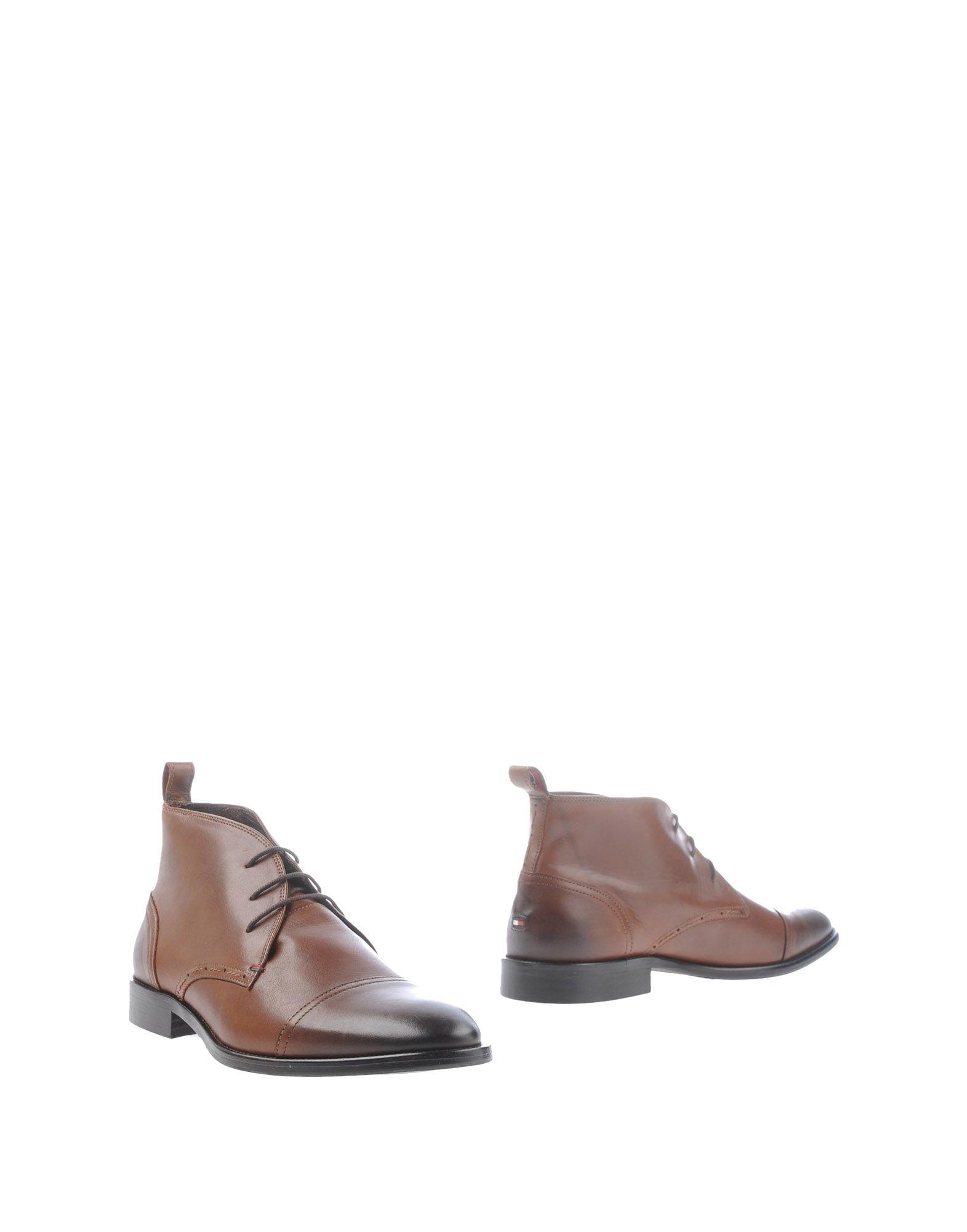 tommy hilfiger ankle boots in brown for men lyst. Black Bedroom Furniture Sets. Home Design Ideas