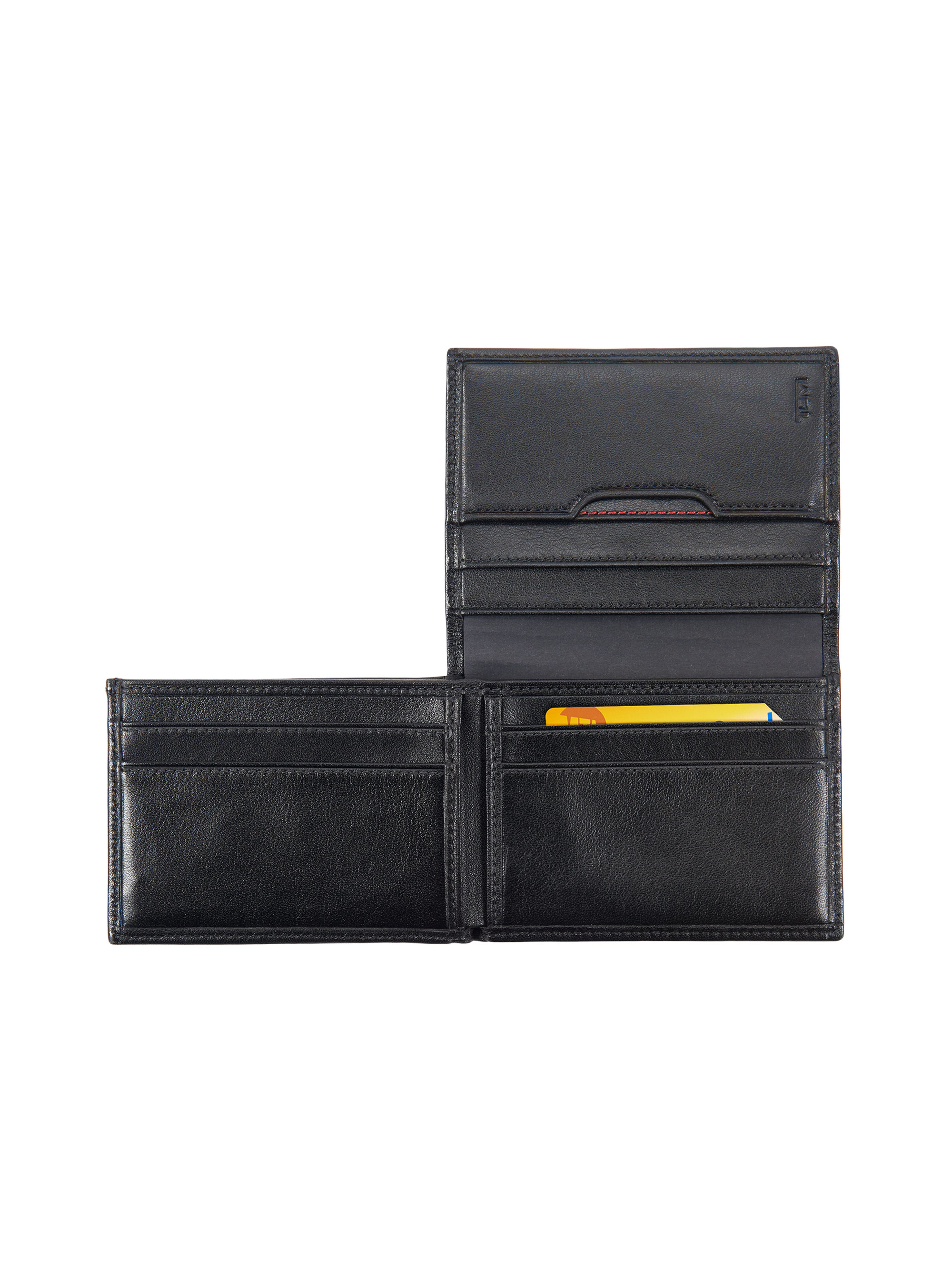 c0aed7cb07d4 Lyst - Tumi Delta L-fold Id Wallet in Black for Men