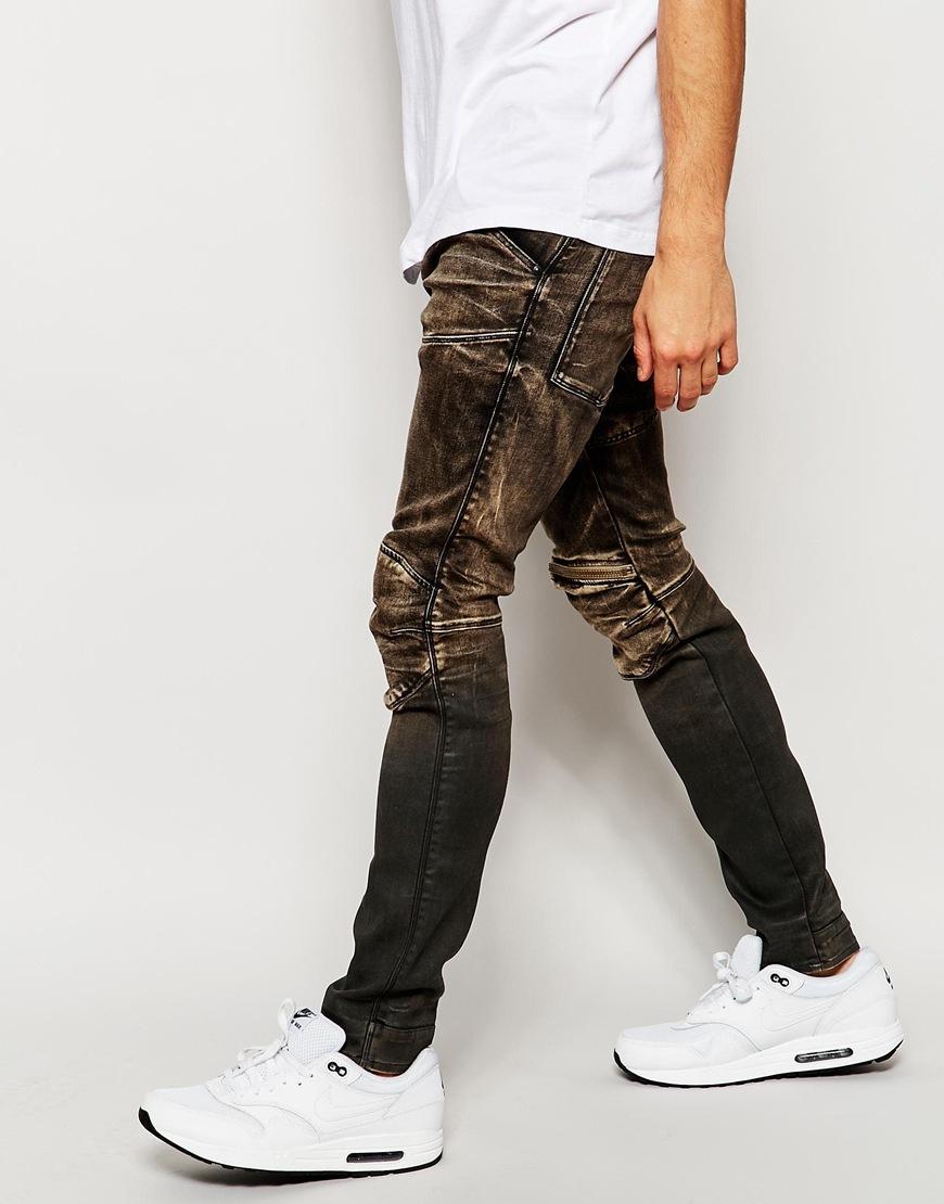 g star raw jeans 5620 elwood 3d zip knee super slim fit. Black Bedroom Furniture Sets. Home Design Ideas