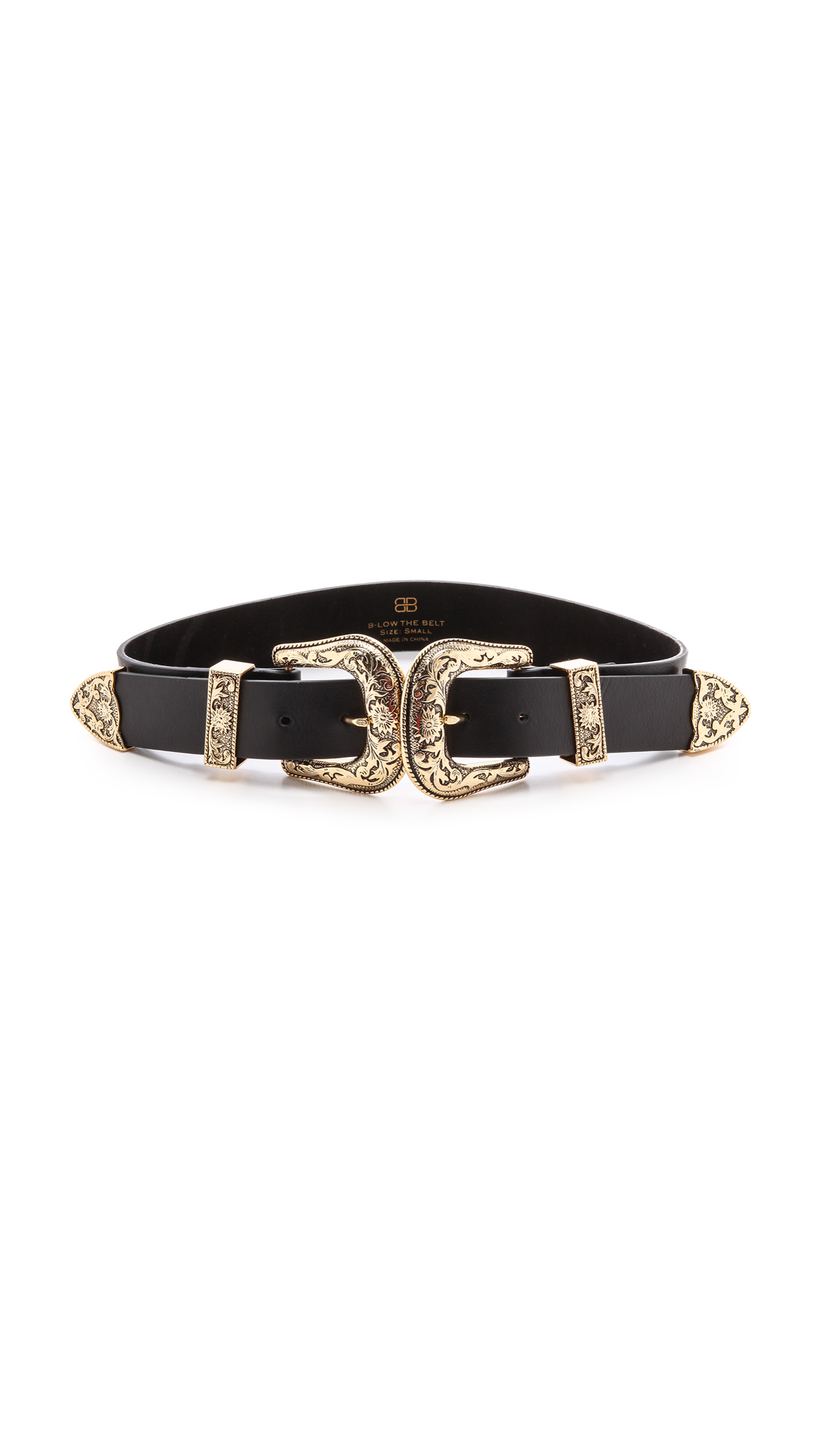 B Low The Belt Bri Bri Belt In Black Lyst