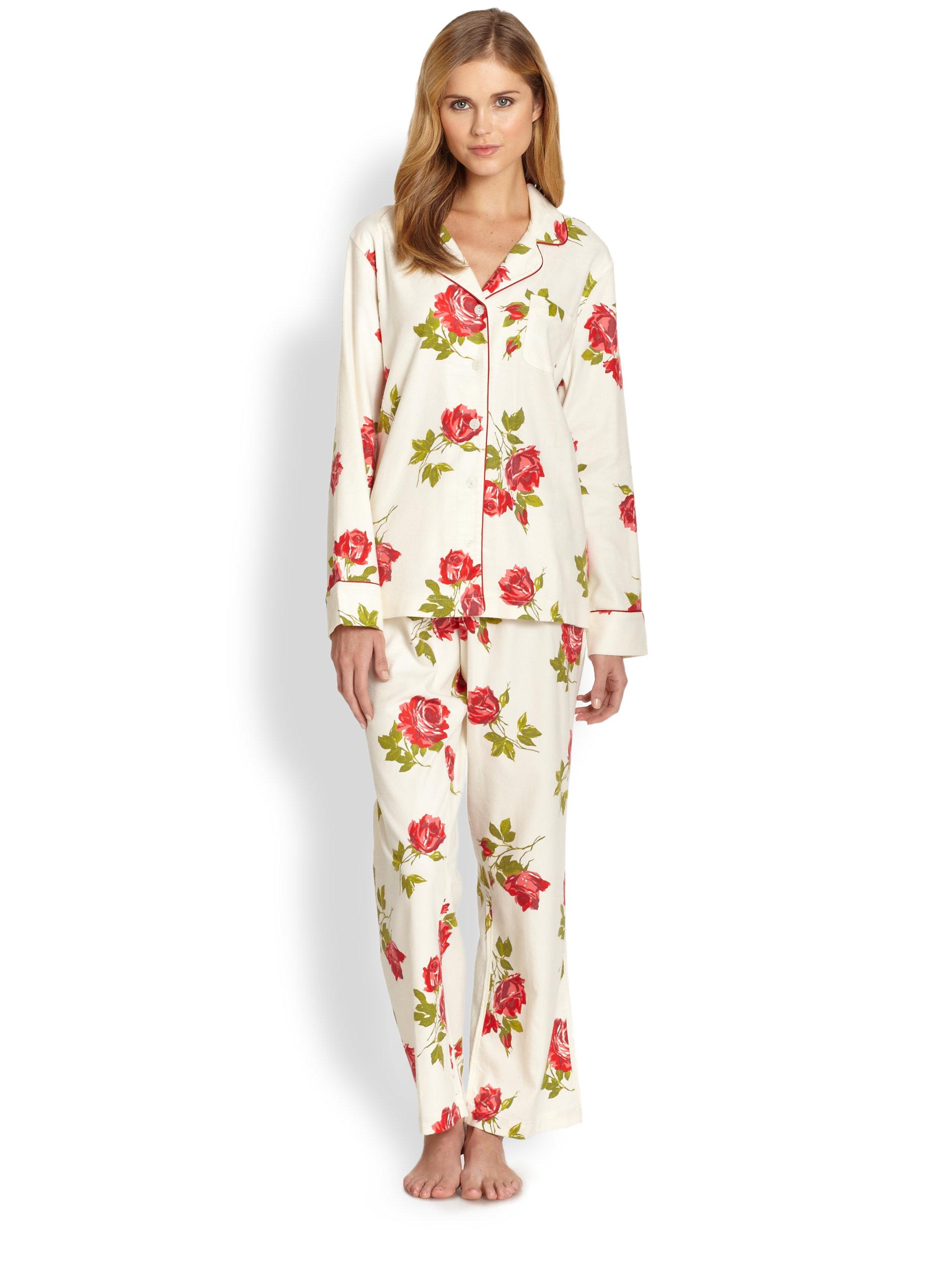 Cottonista Flannel Pajamas | Lyst