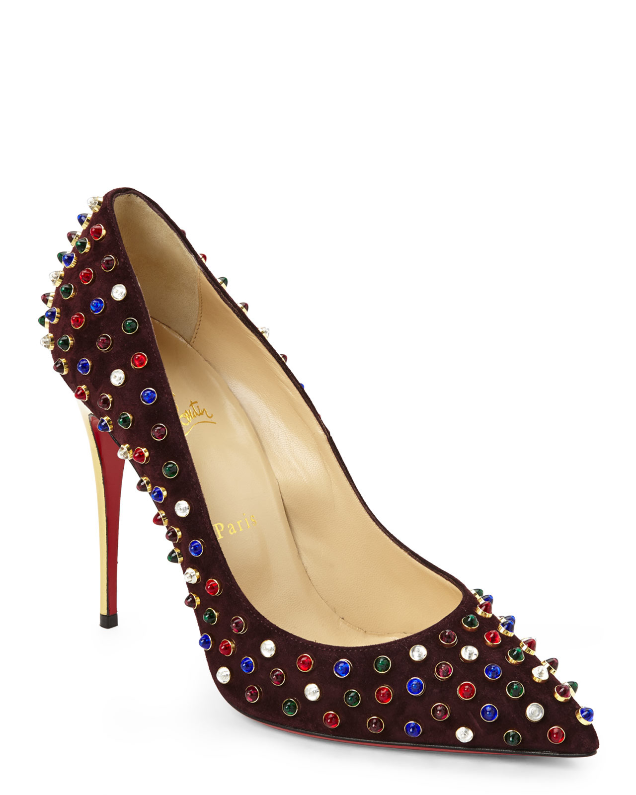 louis louboutin shoes - christian louboutin follies cabo spiked pumps, louboutin men spikes