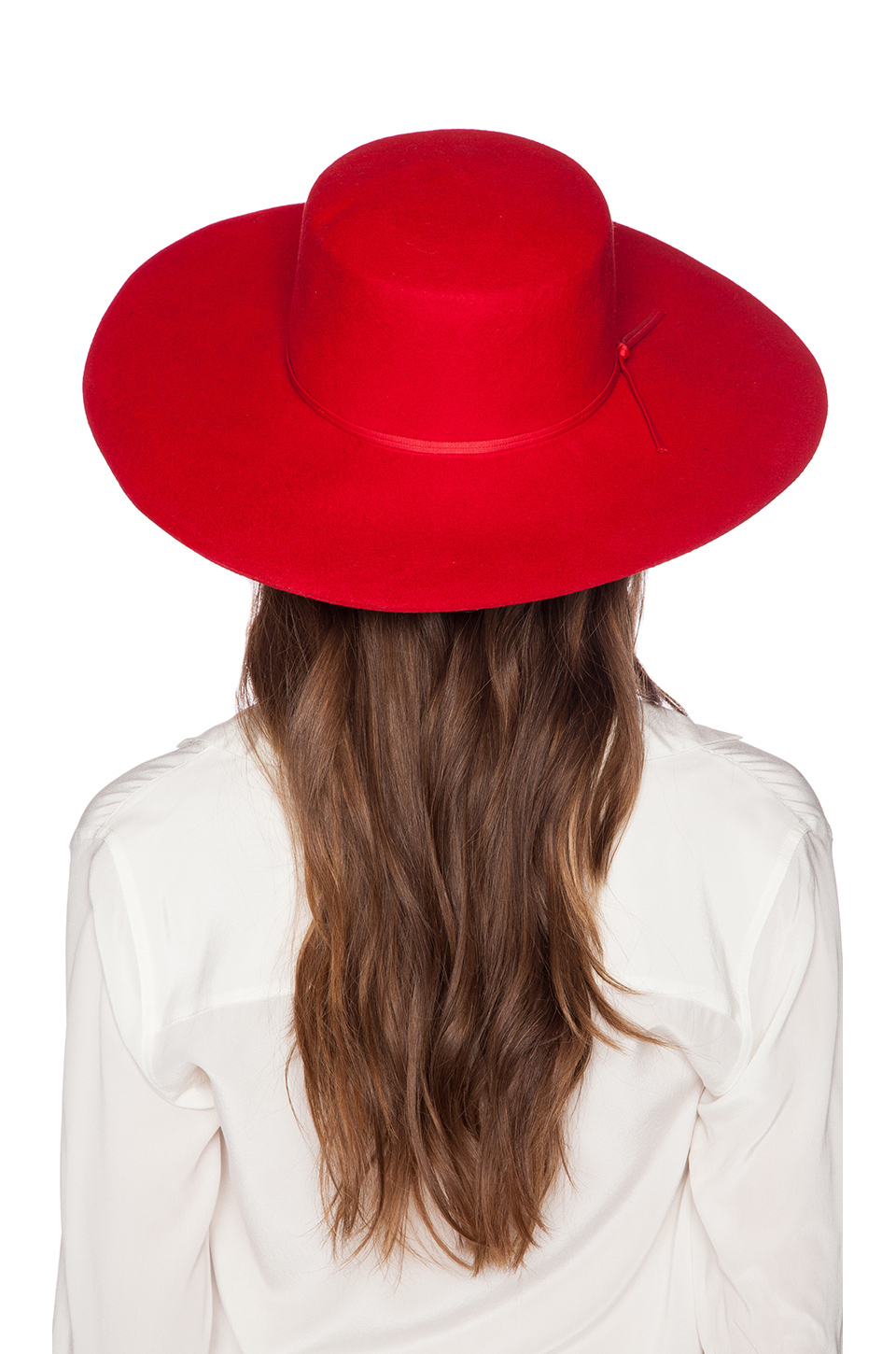57123d7659fc7 store lyst brixton ally hat in red a8831 ecf47