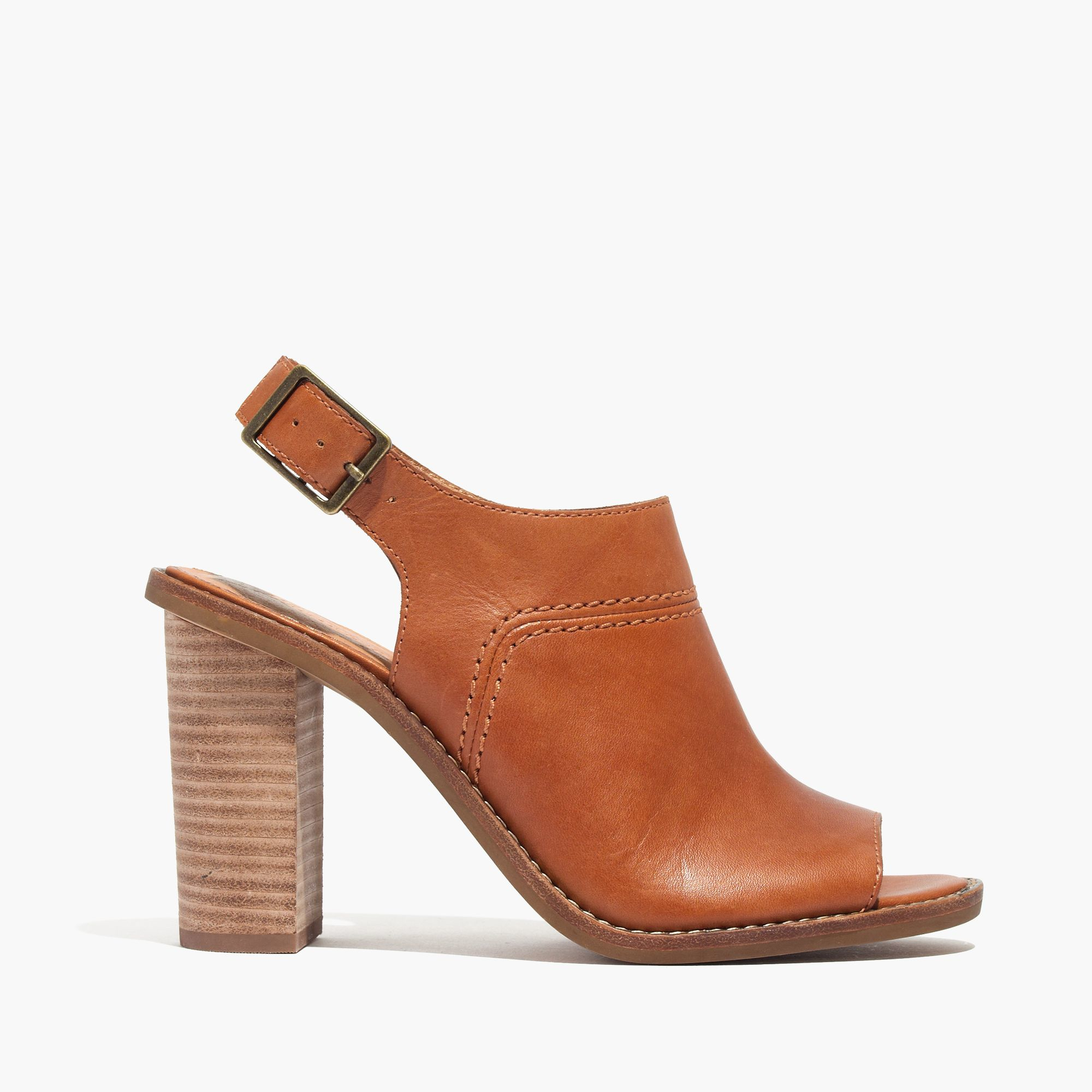 ac99373d89b Lyst - Madewell The Marie Sandal in Brown