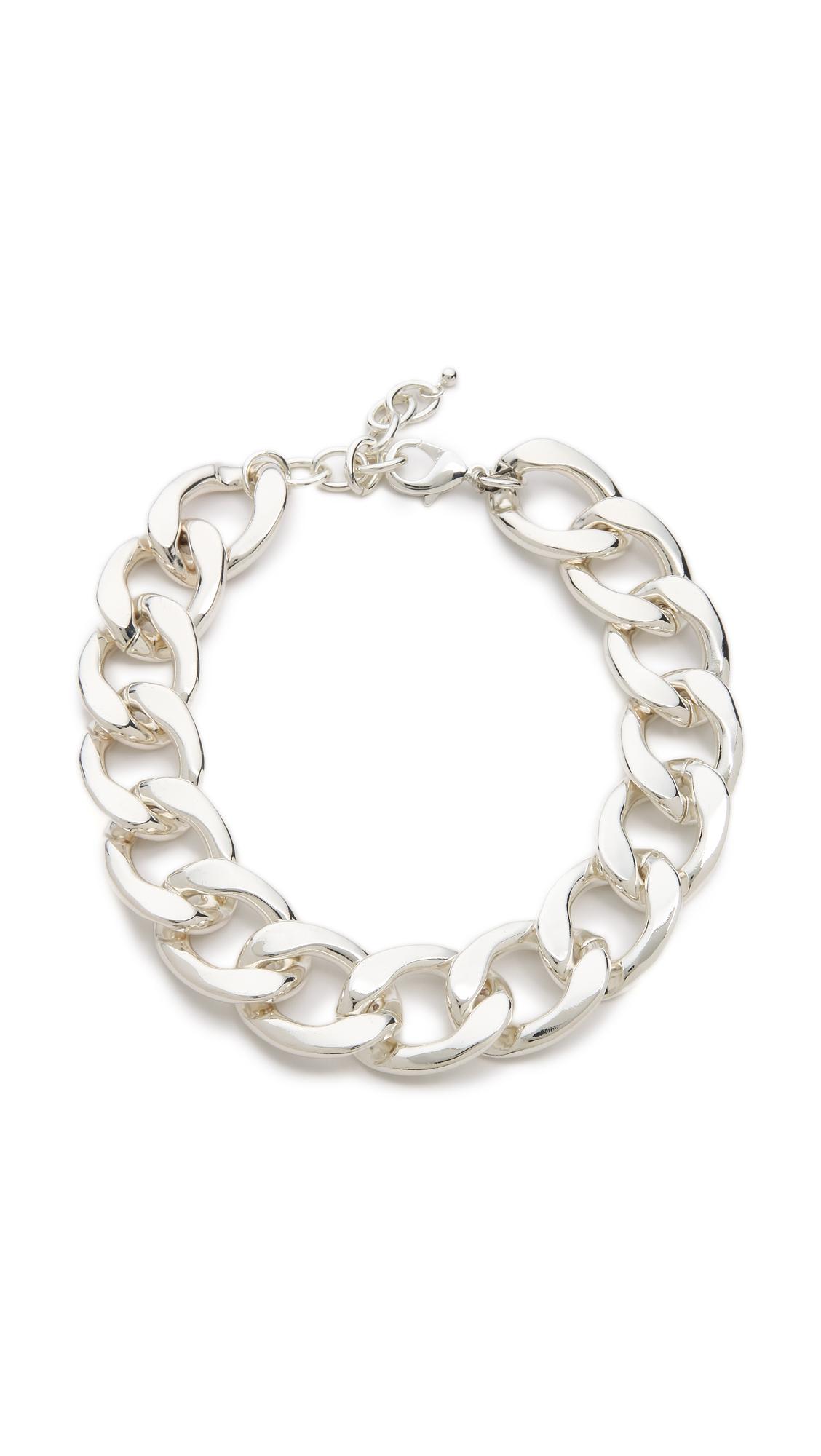 Kenneth Jay Lane Large Link Bracelet Polished gold rRfit3v4