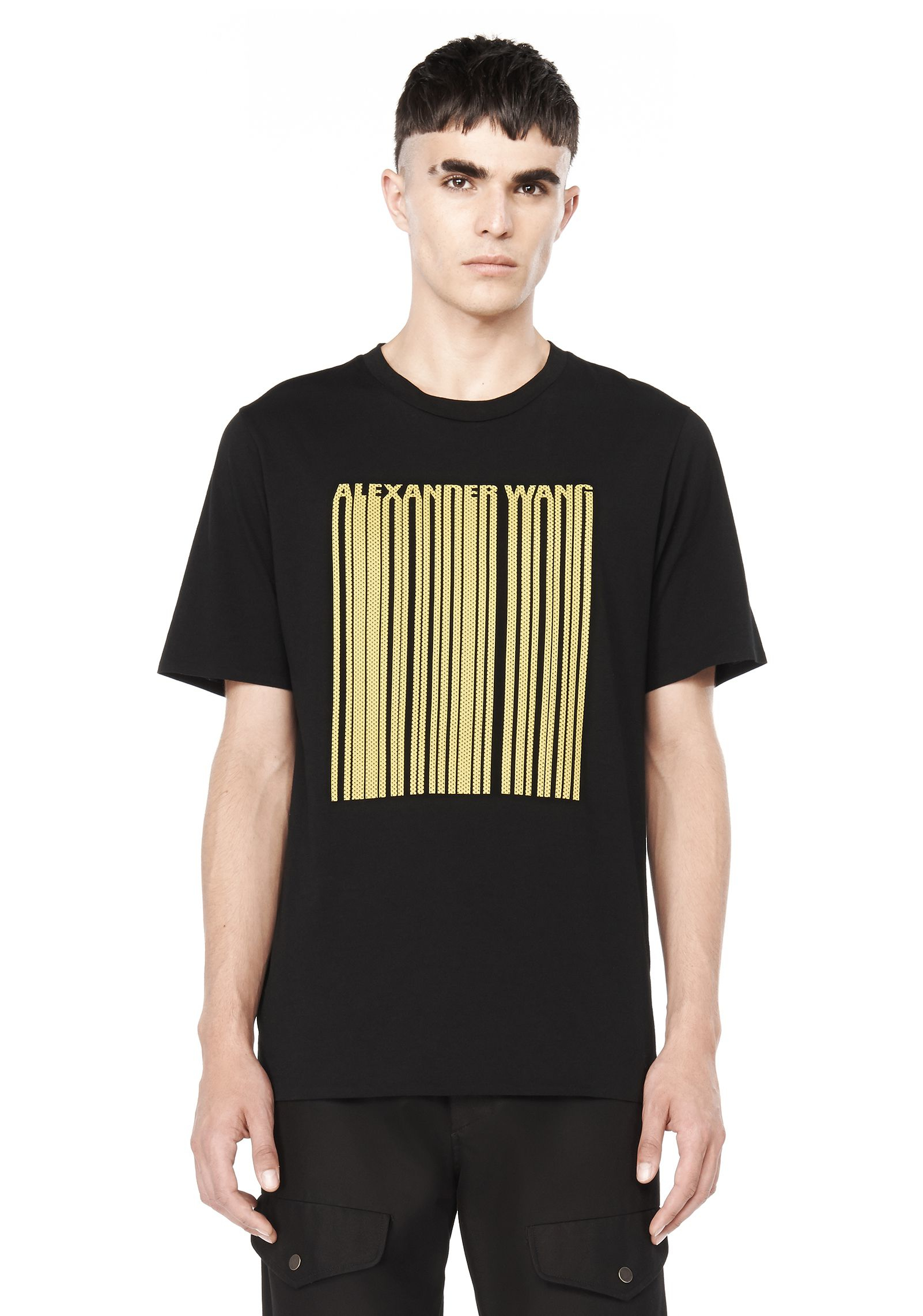 alexander wang t shirt in black for men lyst