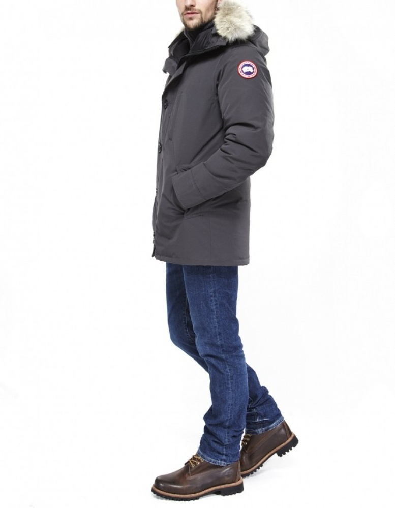 Canada Goose kensington parka sale fake - Canada goose Chateau Parka in Gray for Men (dark grey) | Lyst