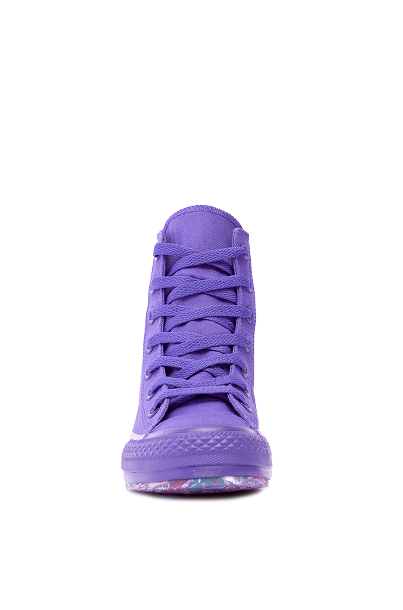 Converse Chuck Taylor Platform Plus In Nightshade In