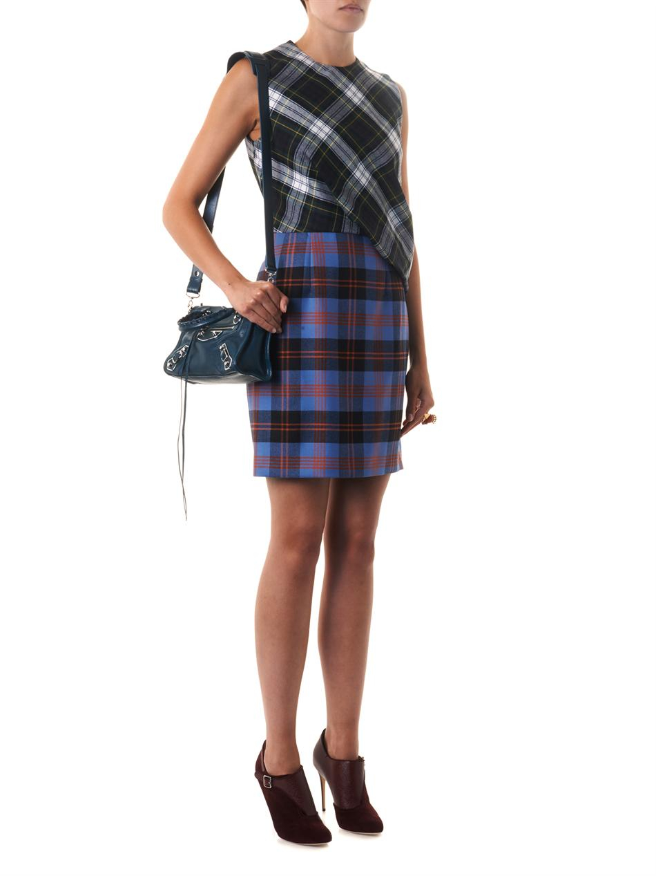 Lyst Balenciaga Classic Mini City Edgeline Crossbody Bag