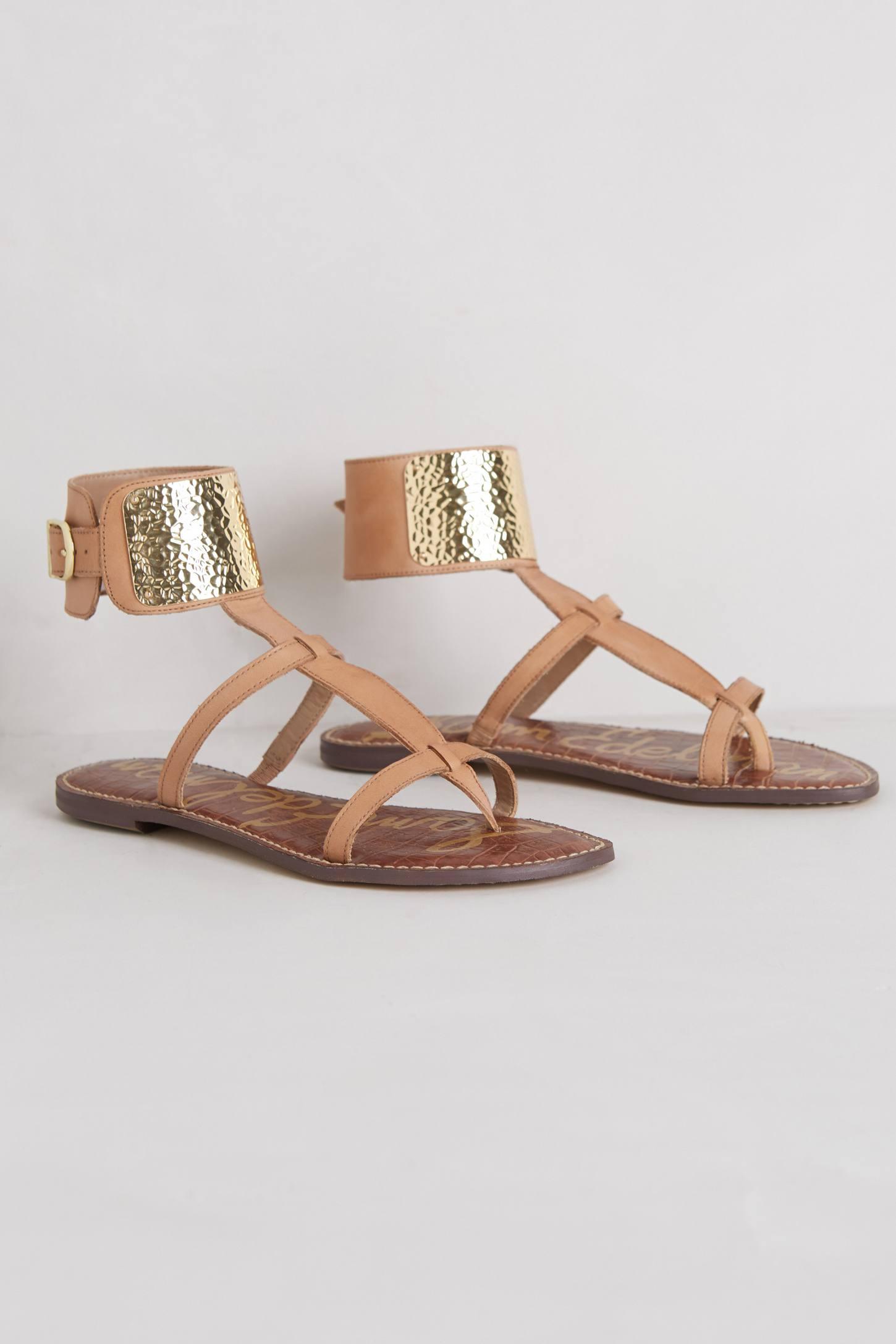 Sam Edelman Genette Gladiator Sandals In Natural Lyst