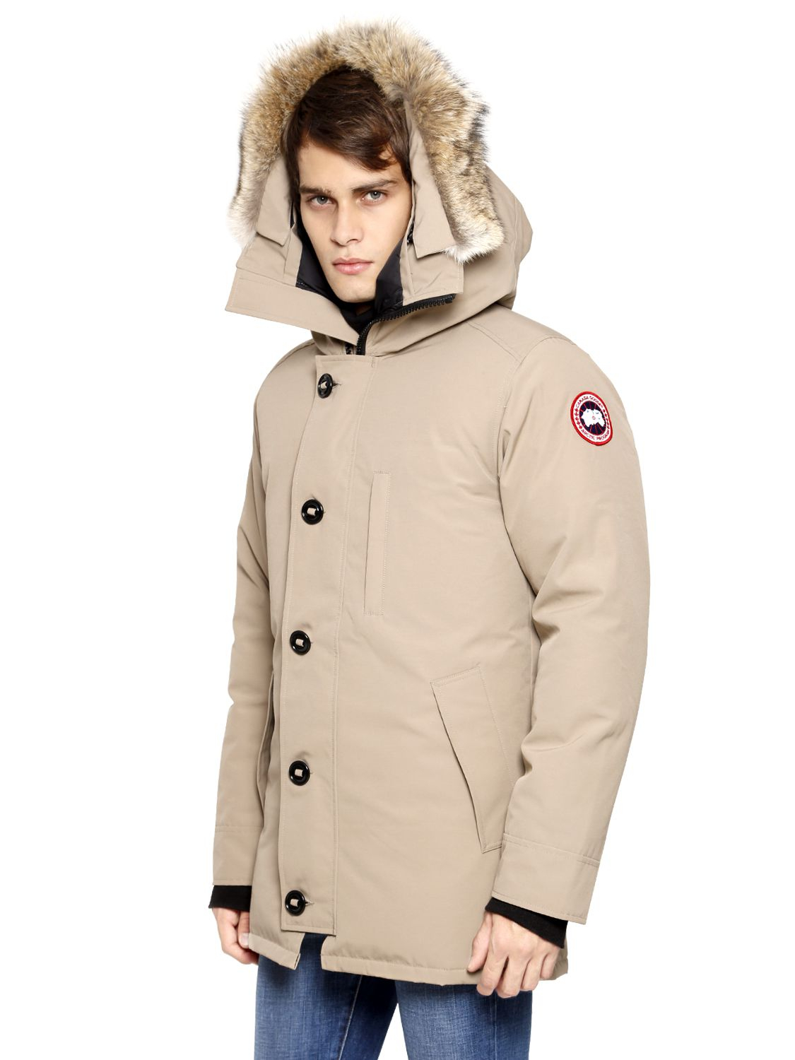 Canada Goose langford parka outlet discounts - Canada goose Chateau Coyote Trim Parka in Brown for Men (TAN) | Lyst