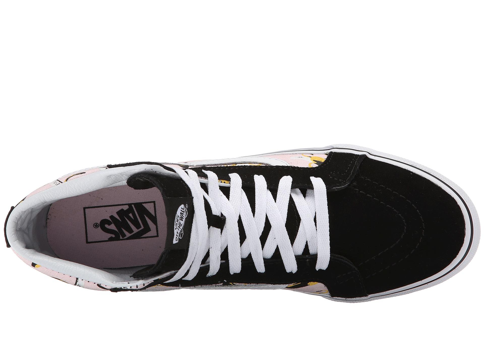 01d65901bc1 Lyst - Vans Sk8-hi Slim in Black