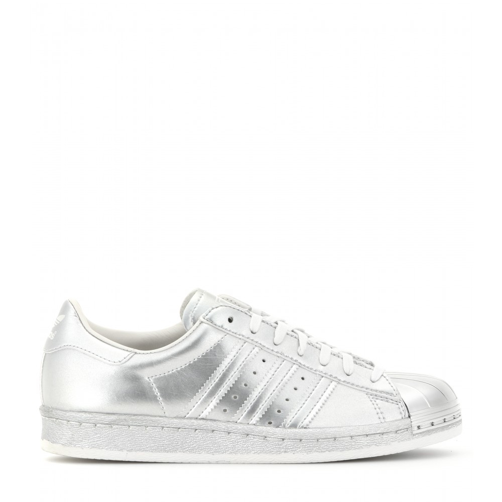adidas superstar silver metal