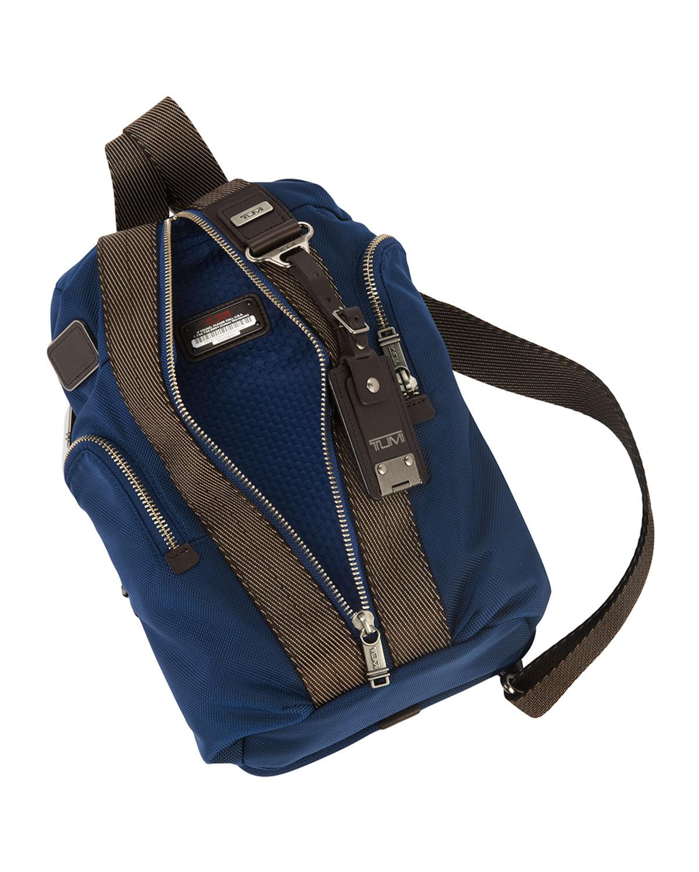 Lyst Tumi Bravo Monterey Sling Bag In Blue For Men