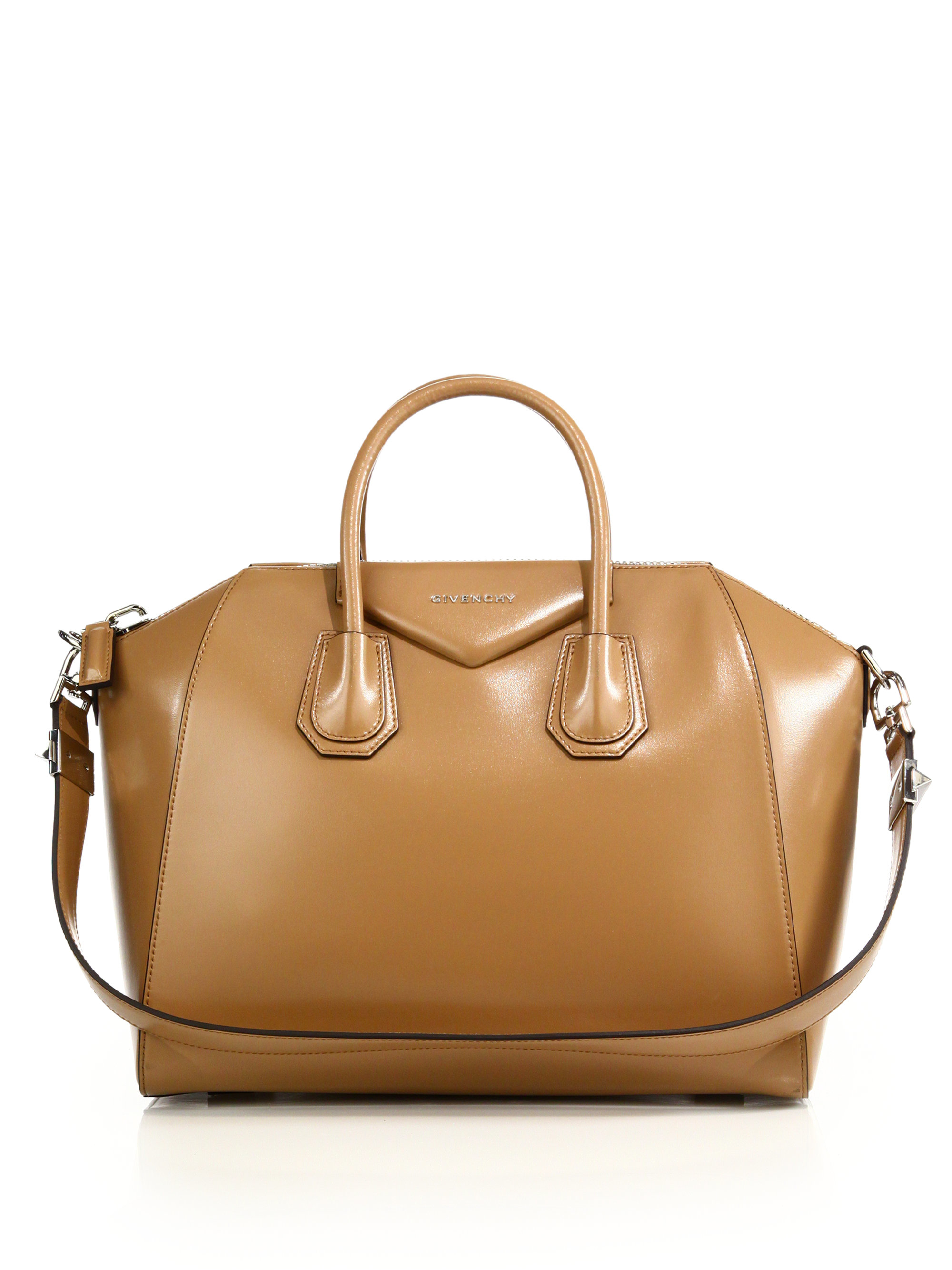 Givenchy Antigona Bag Glazed Leather Medium 8BGWNLV