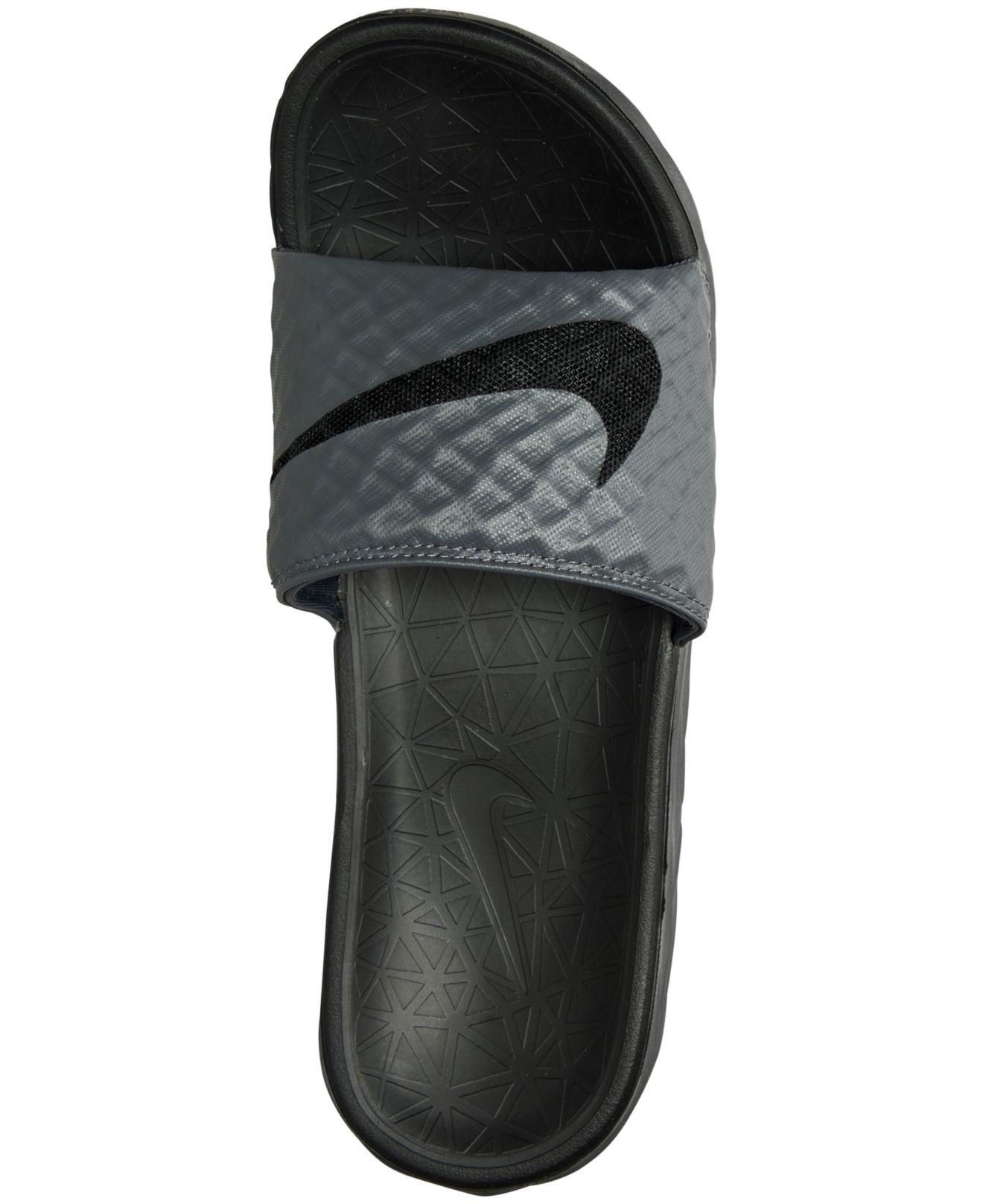 Men's Benassi Solarsoft Slide 2 Sandals From Finish Line