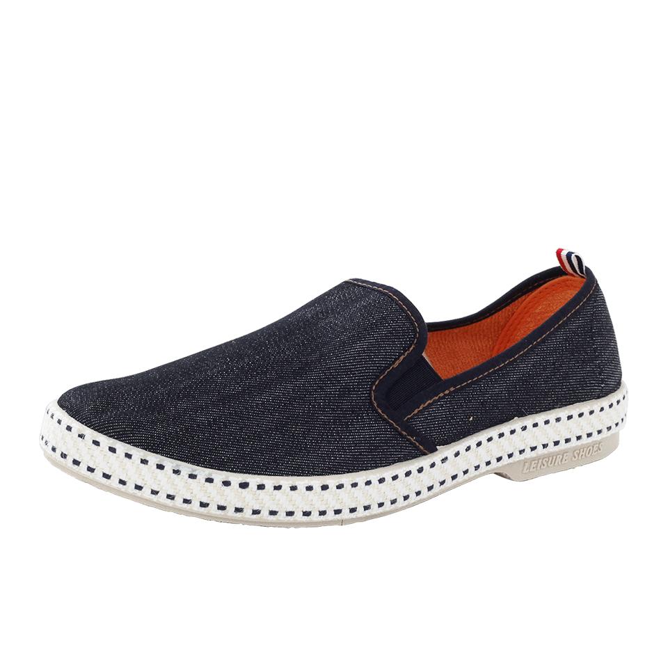 rivieras jean blue shoe in blue for lyst