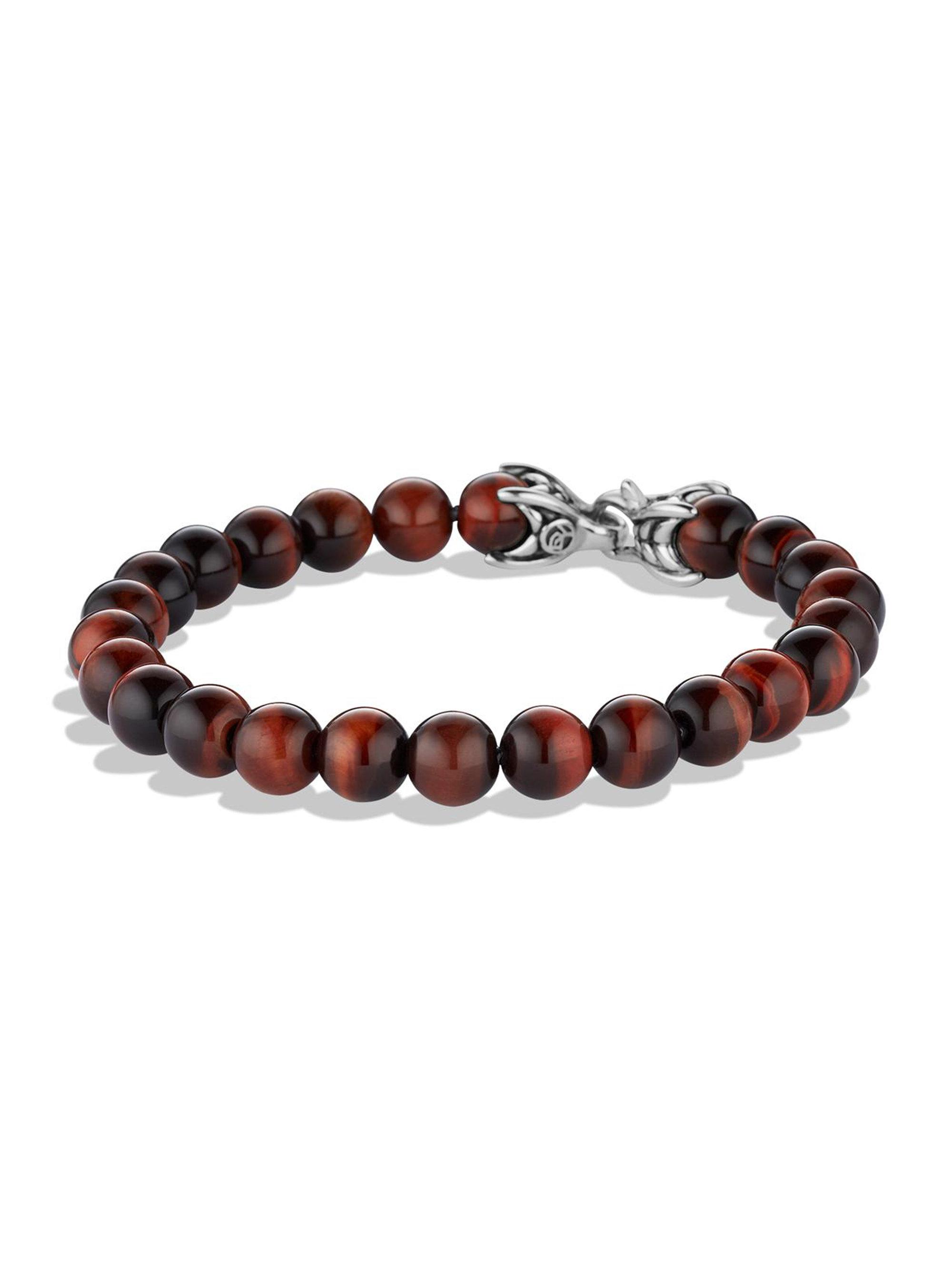 David Yurman Spiritual Beads tiger eye bracelet - Brown eWp3u