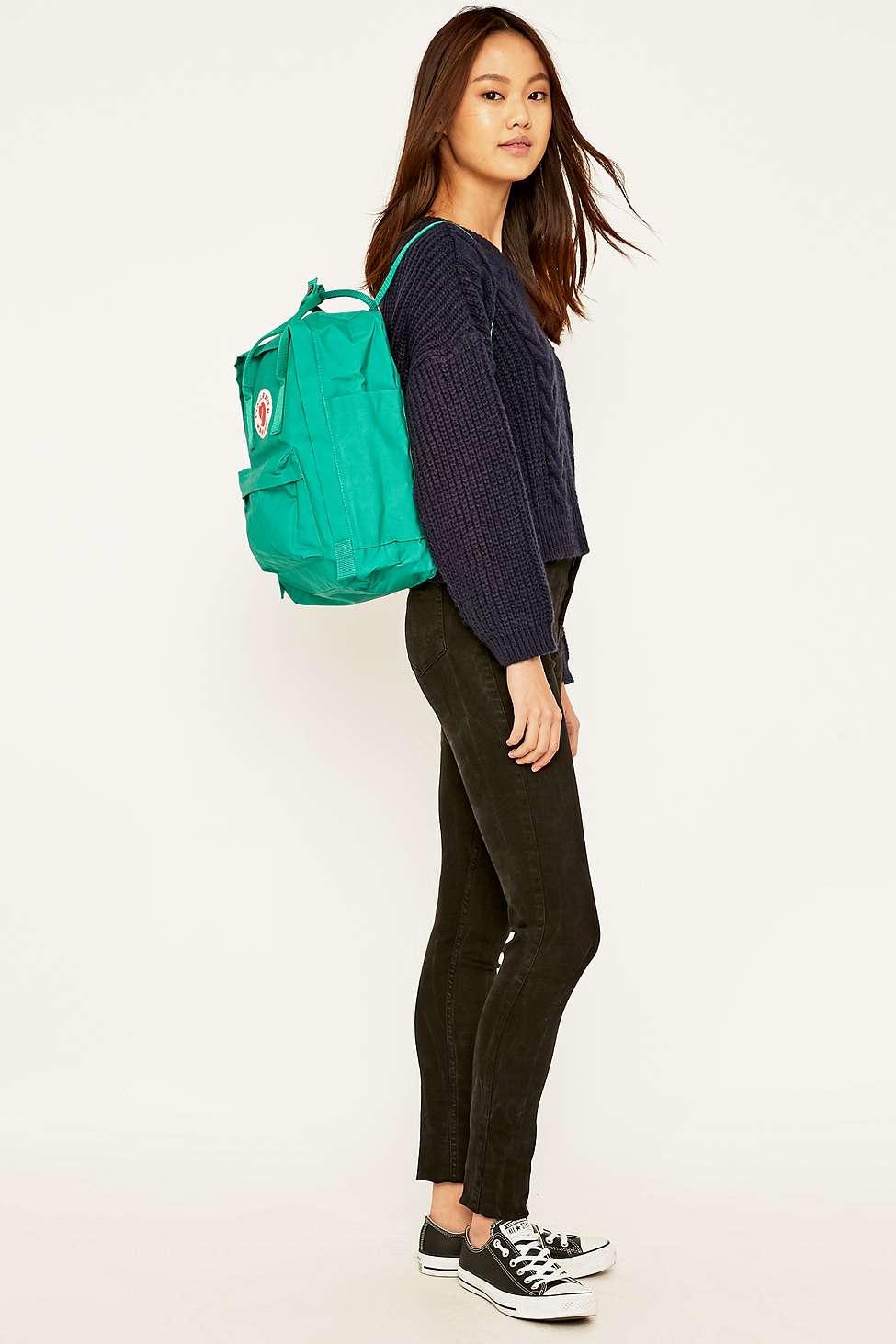 Fjallraven Kanken Classic Teal Backpack in Blue