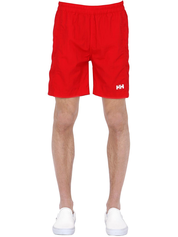2cdc9e82d4 Helly Hansen Calshot Nylon Swimming Shorts in Red for Men - Lyst