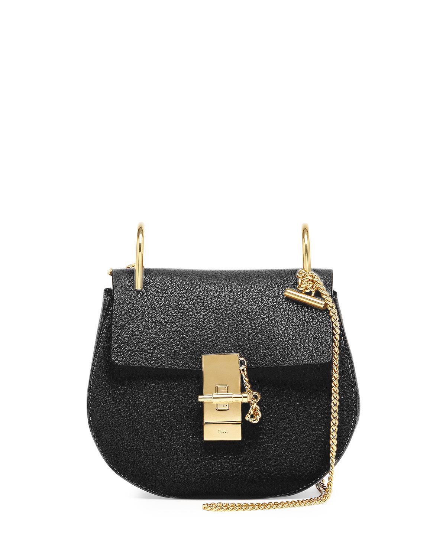 see by chloe bags shop online - Chlo�� Drew Mini Shoulder Bag in Black | Lyst