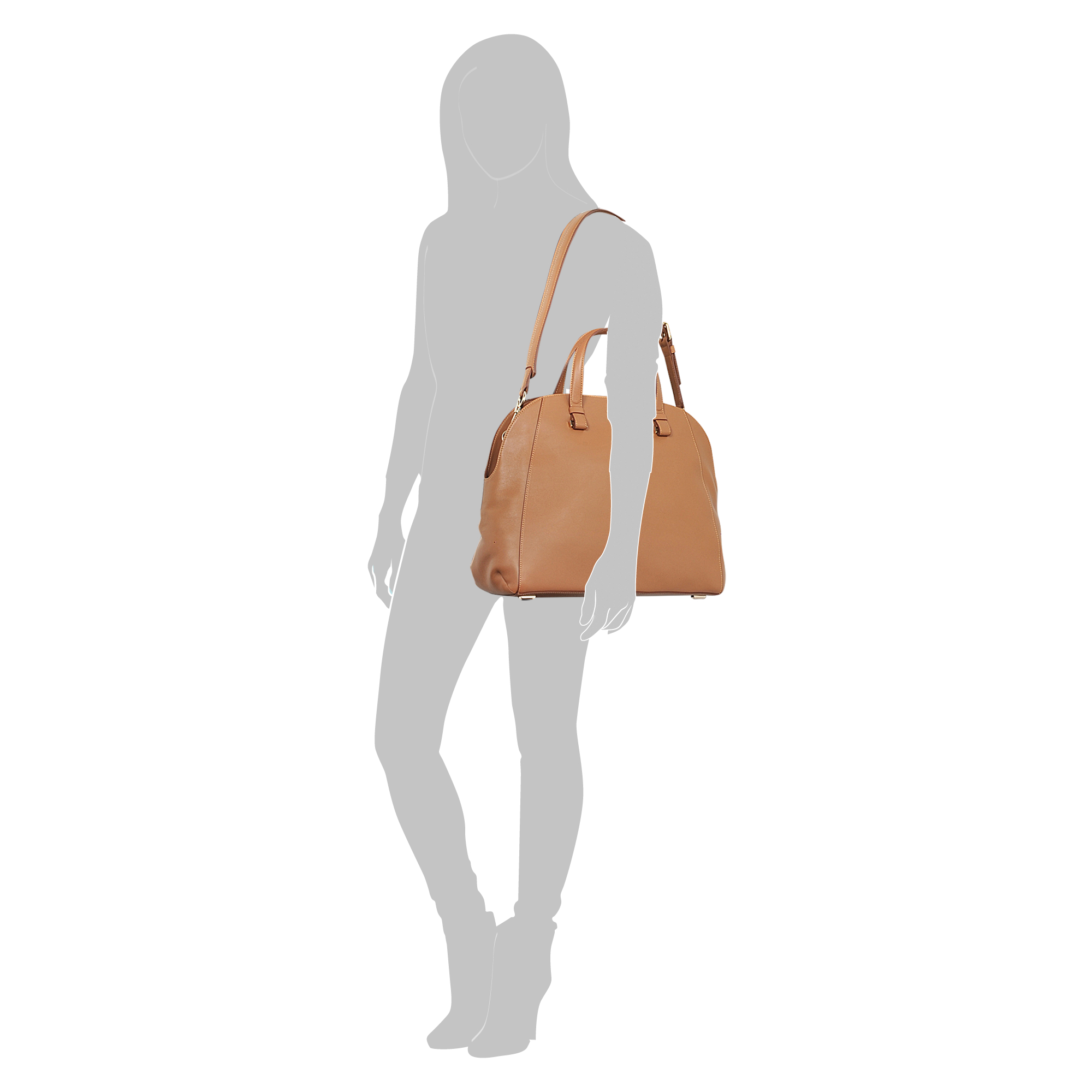 Lancel 48-50 Tote in Brown
