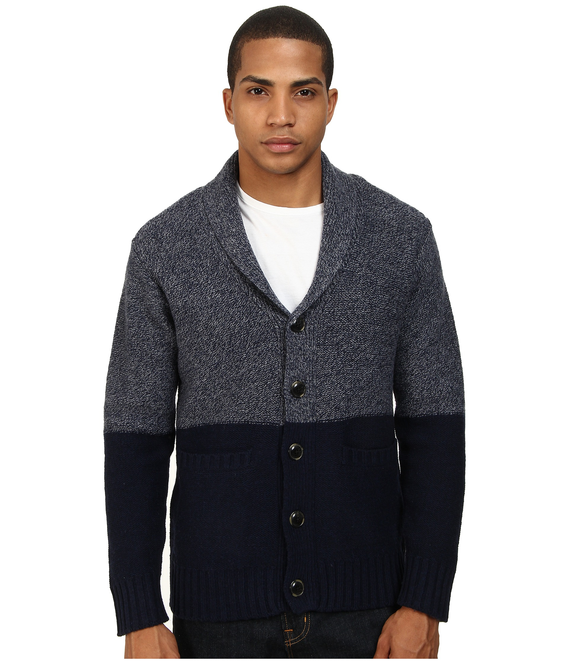Obey Holden Sweater in Blue for Men | Lyst