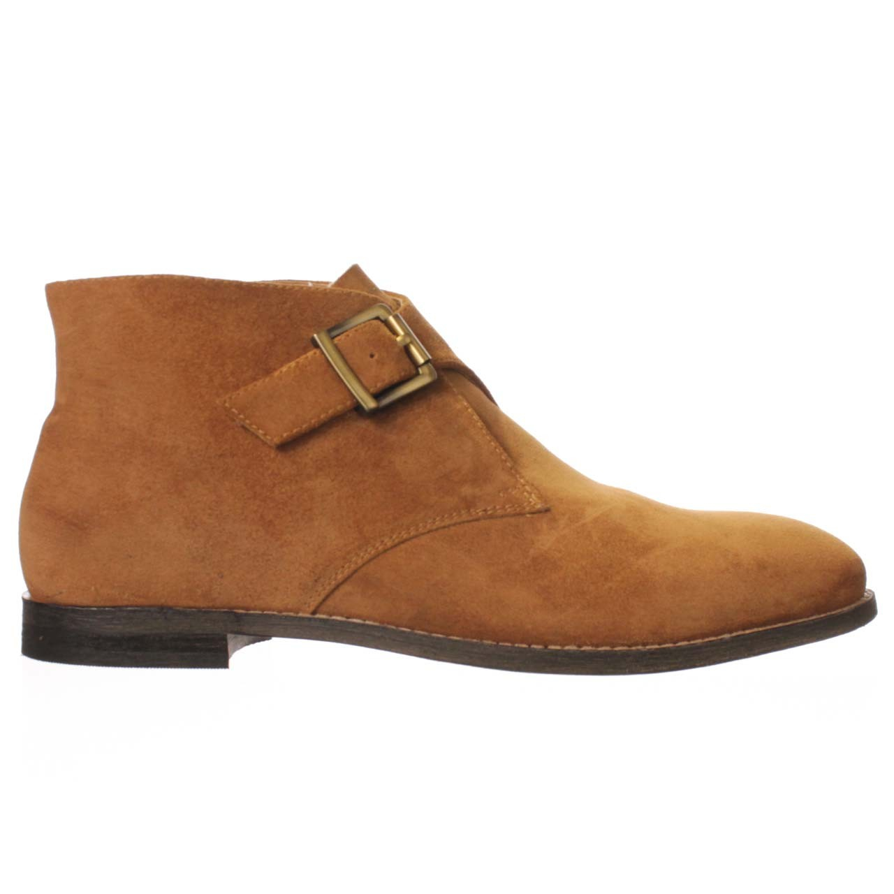 johnston murphy bellemonk ankle boot in brown lyst