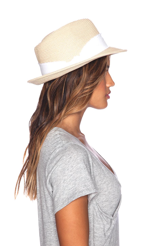 75a2e1610 Hat Attack White Fine Braid Fedora