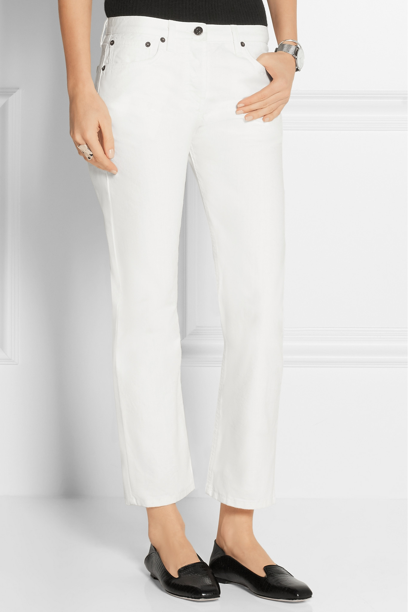 Cheap Many Kinds Of Cheap Cost Ashlands cropped straight jeans The Row Buy Really Tb9DfokDw