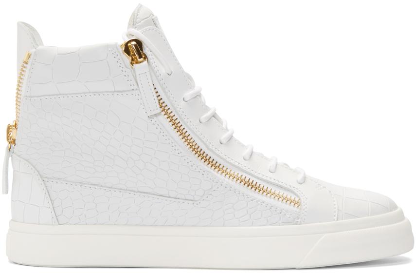 Giuseppe Zanotti Croc May London High-Top Sneakers 7Ns5mXmC