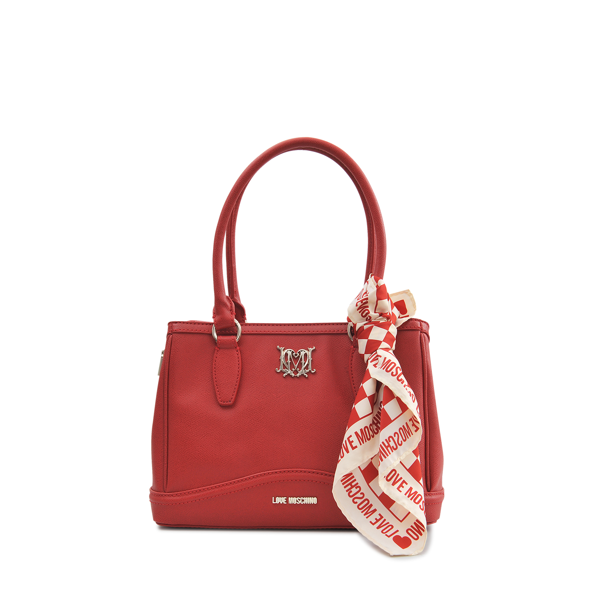 moschino i scarf bag in lyst