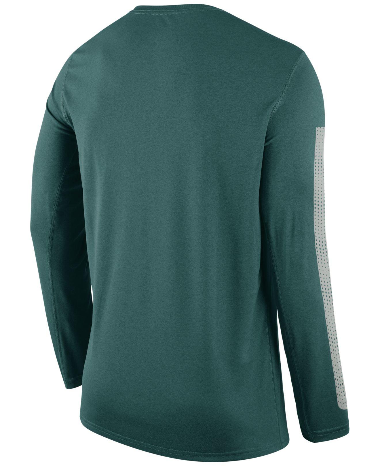 Lyst - Nike Men s Long-sleeve Philadelphia Eagles Legend Logo T ... a1de1e857