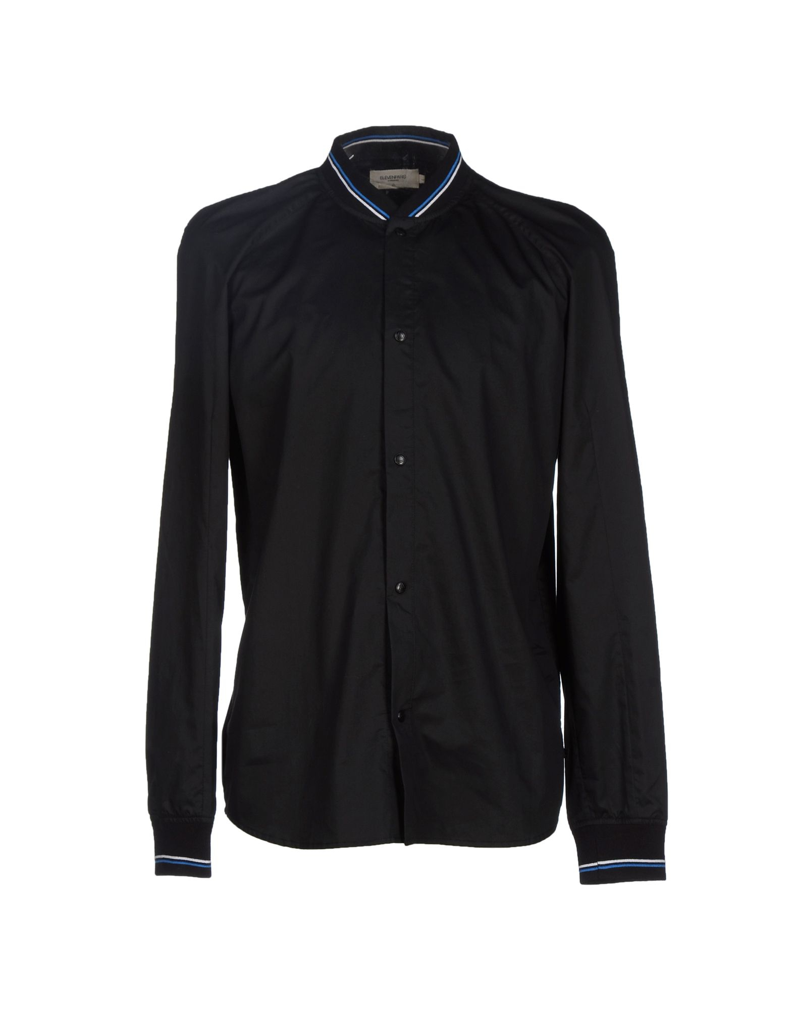 eleven paris shirt in black for men lyst. Black Bedroom Furniture Sets. Home Design Ideas