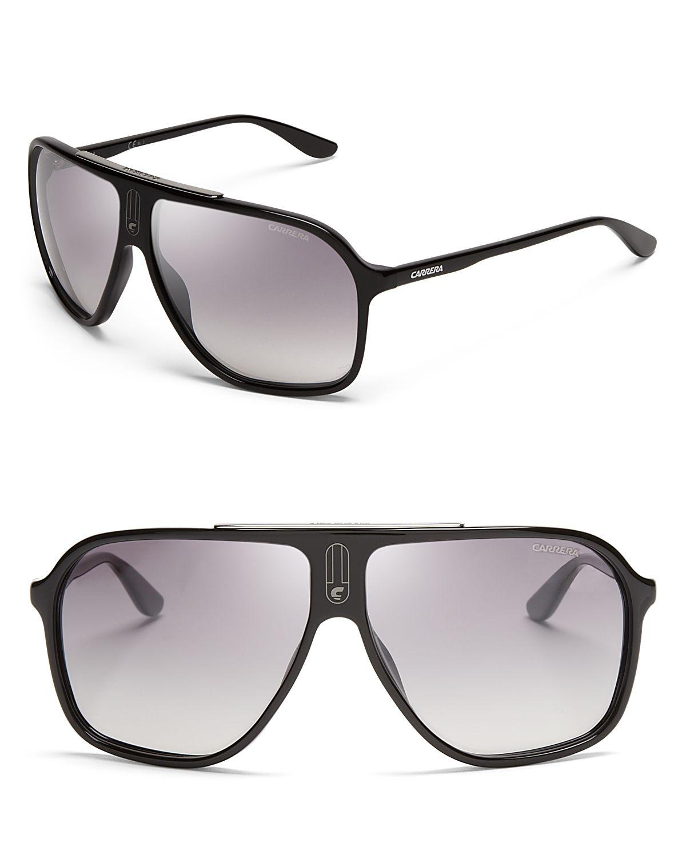 c938f8faf Lyst - Carrera Mirrored Navigator Sunglasses in Black for Men