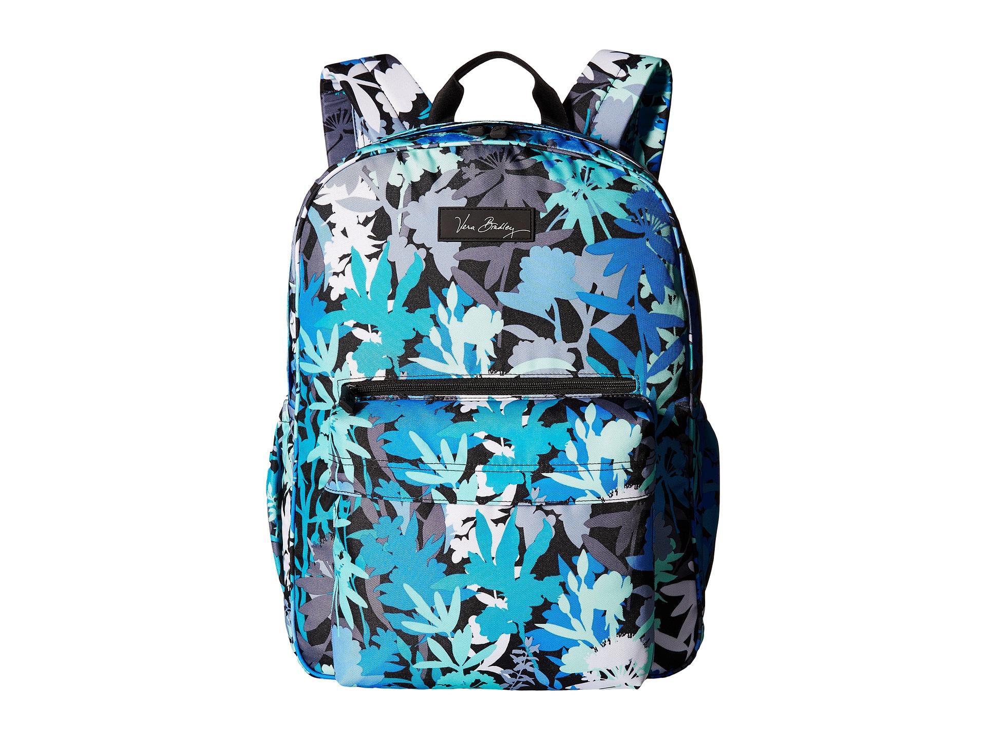 13b600f8cfb0 Vera Bradley Flower Shower Laptop Backpack - Flowers Healthy