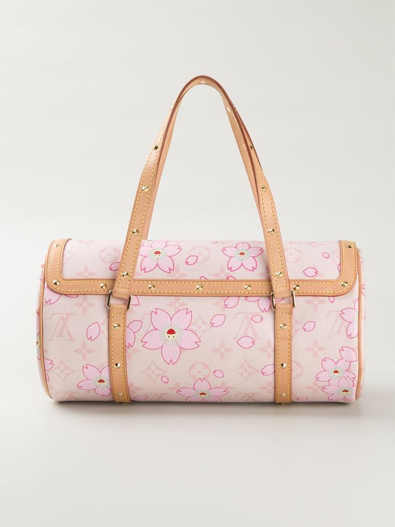 f8ecd87e9ea Louis Vuitton Pink Louis Vuitton X Takashi Murakami 'cherry Blossom  Monogram Papillon' Tote